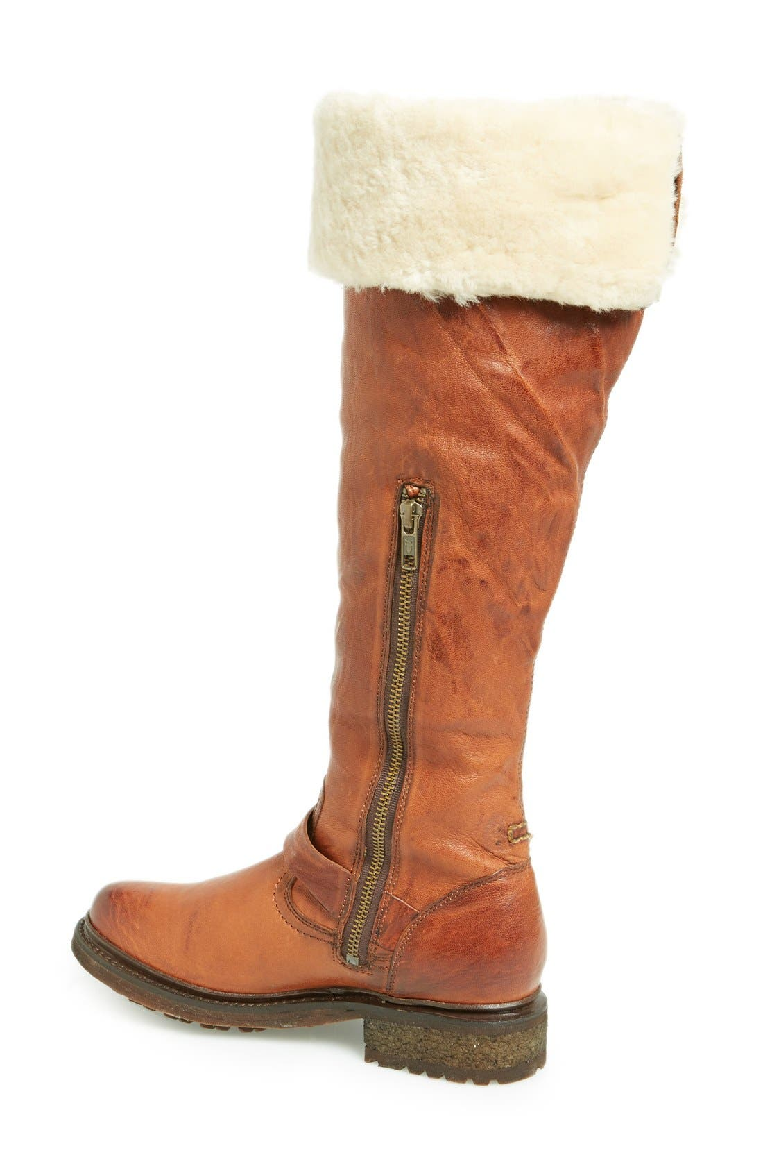 Alternate Image 2  - Frye 'Valerie' Cuff Over the Knee Boot (Women)