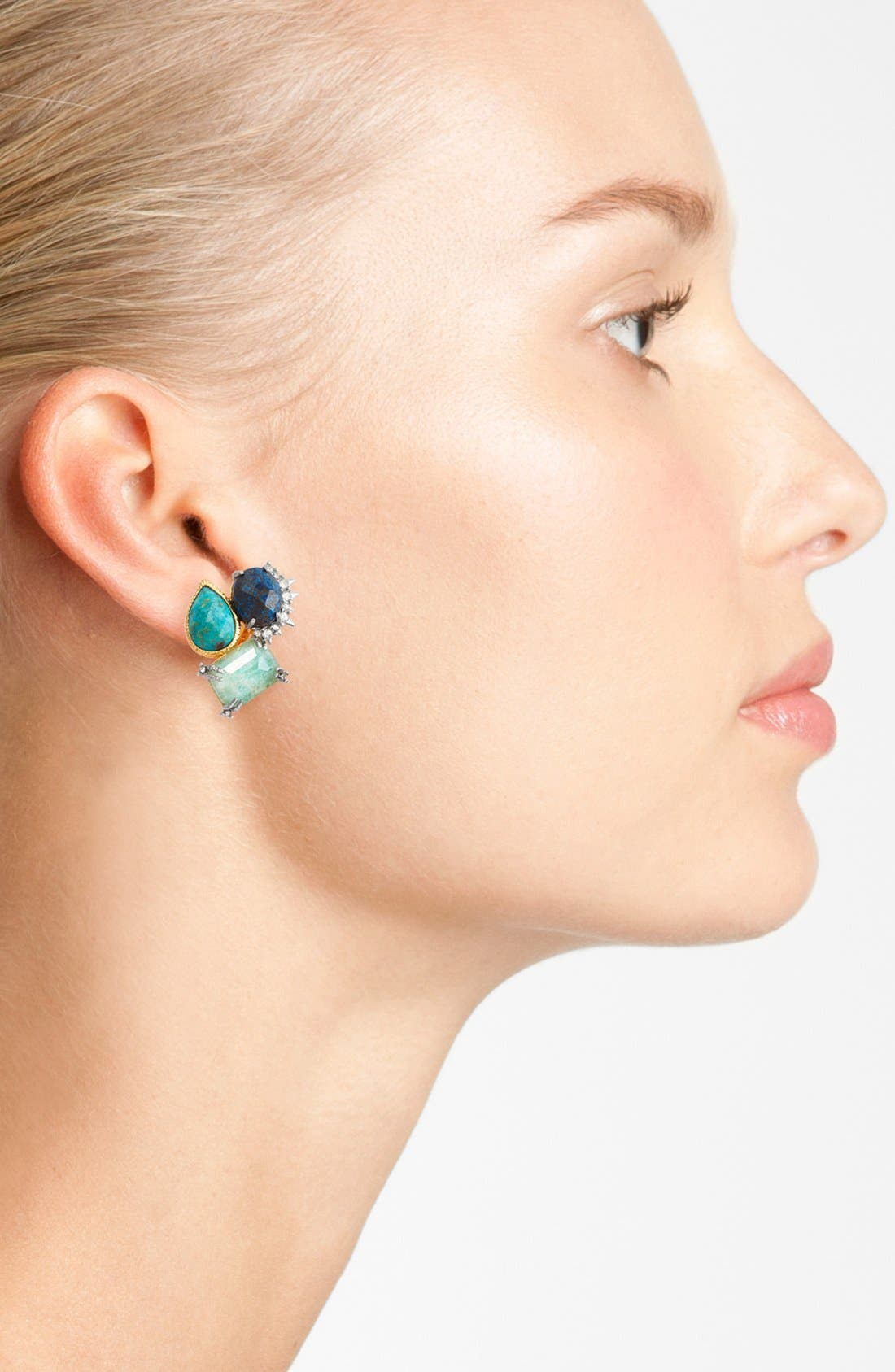 Alternate Image 2  - Alexis Bittar 'Elements - Muse d'Or' Cluster Clip Earrings