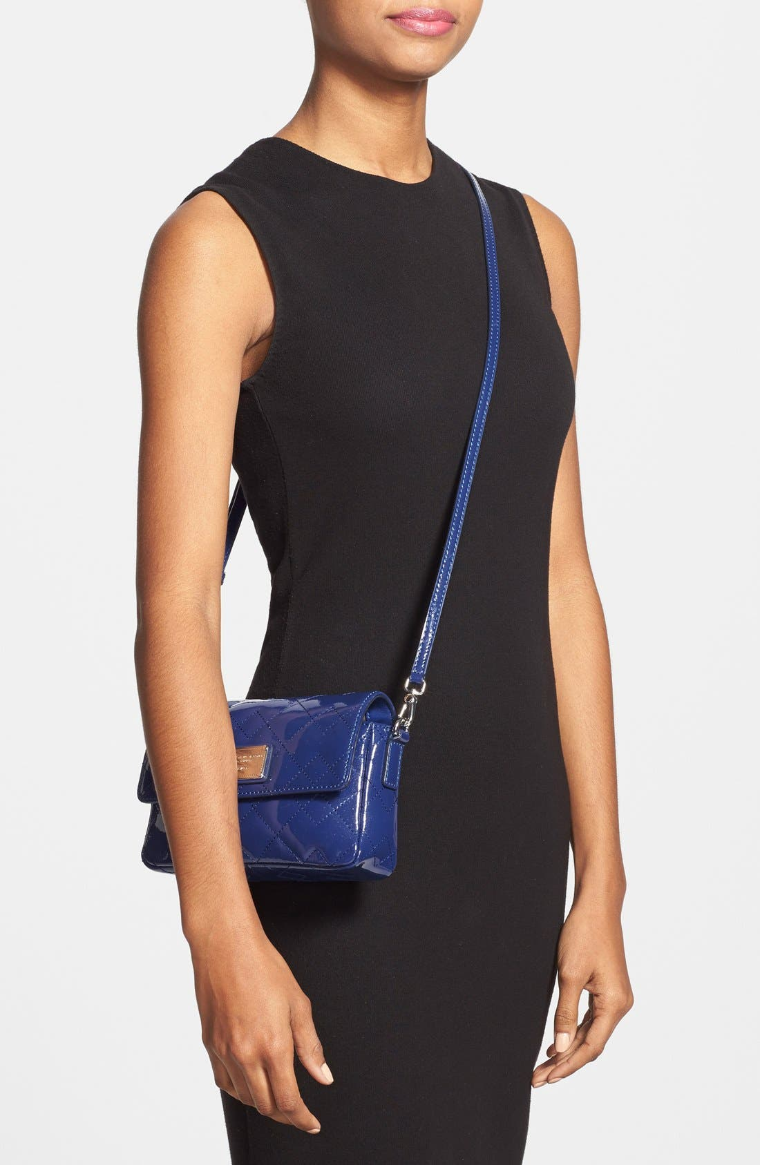 Alternate Image 2  - MARC BY MARC JACOBS 'Nifty Gifty - Julie' Patent Leather Crossbody Bag
