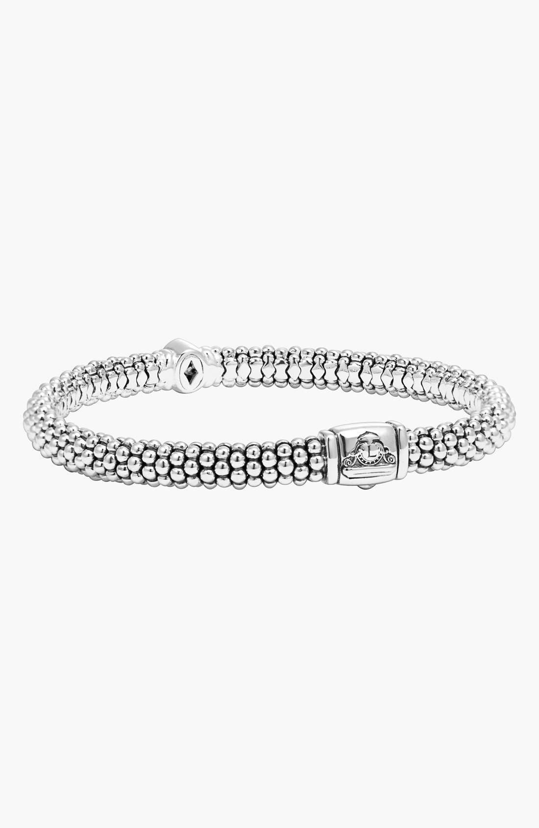 Alternate Image 3  - LAGOS 'Twilight' Caviar™ Diamond Rope Bracelet