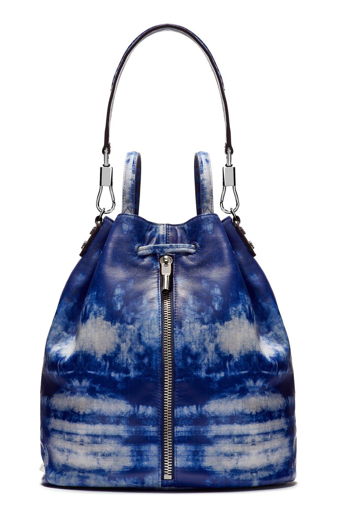 Main Image - Elizabeth and James 'Cynnie' Tie Dye Sling Backpack