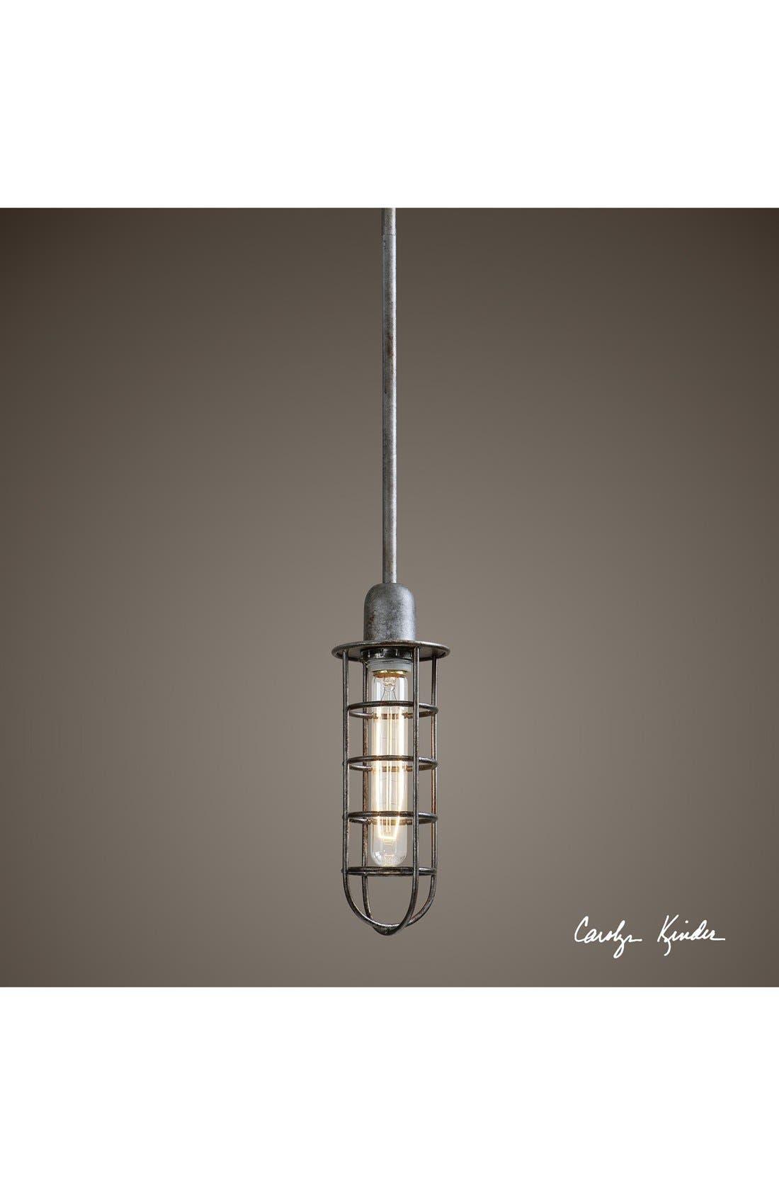Alternate Image 2  - Uttermost 'Bearinger - Mini' Pendant Light