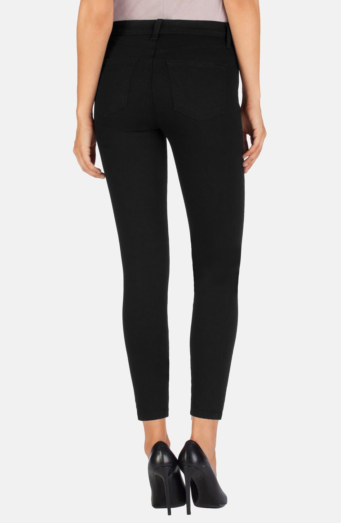Alternate Image 2  - J Brand 'Hanna' High Rise Crop Jeans (Vanity)