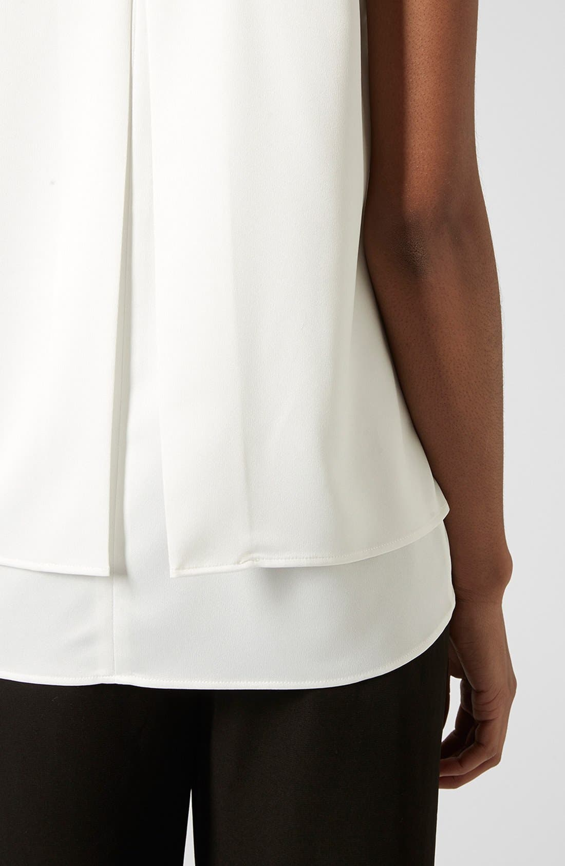 Alternate Image 3  - Topshop 'Nord Lily' Layered Split Back Tank