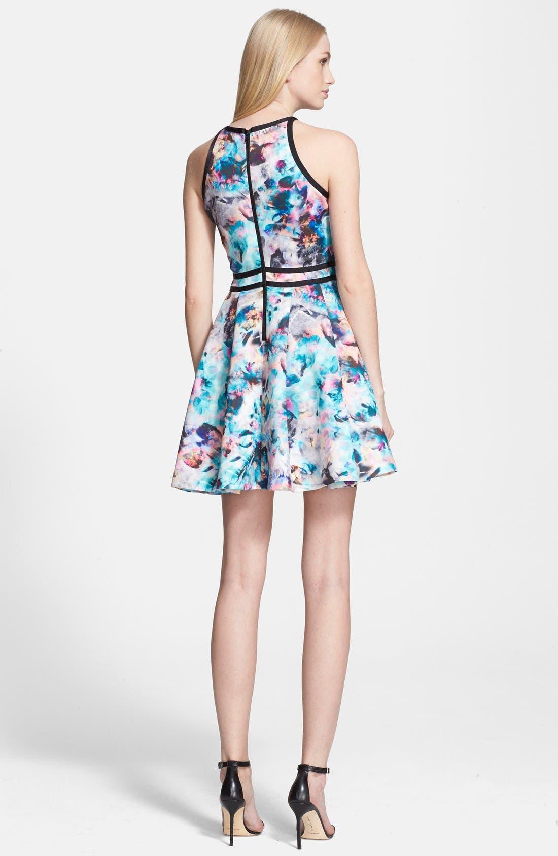 Alternate Image 2  - Parker 'Emmy' Print Fit & Flare Dress