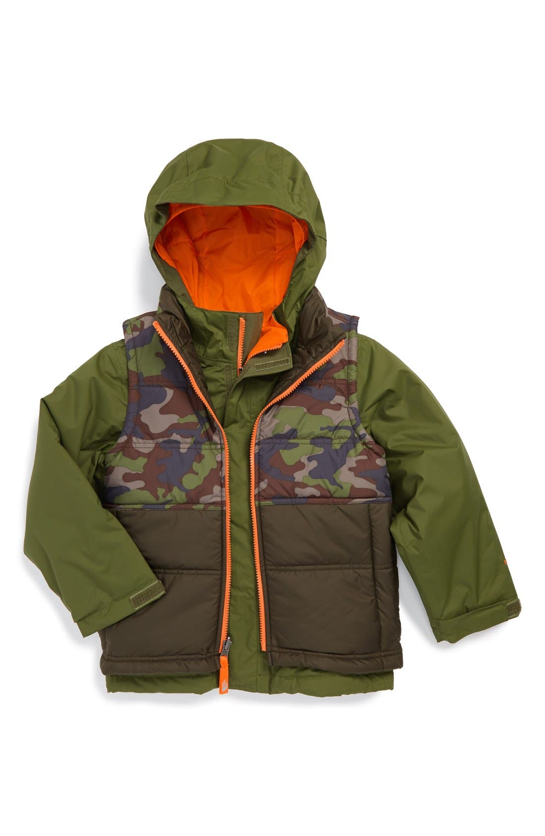 Alternate Image 1 Selected - The North Face 'Vestamatic TriClimate®' Jacket (Big Boys)