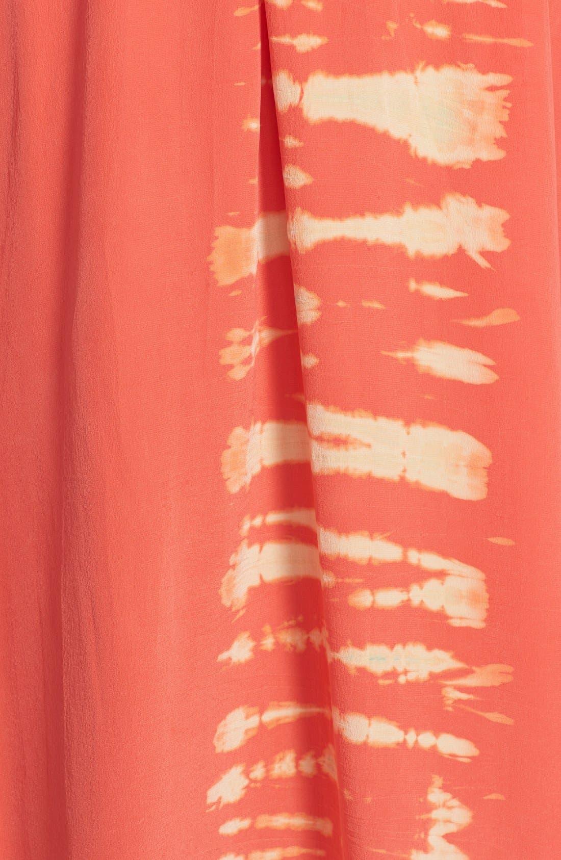 Alternate Image 3  - Gypsy 05 Strappy Tie-Dye Maxi Dress