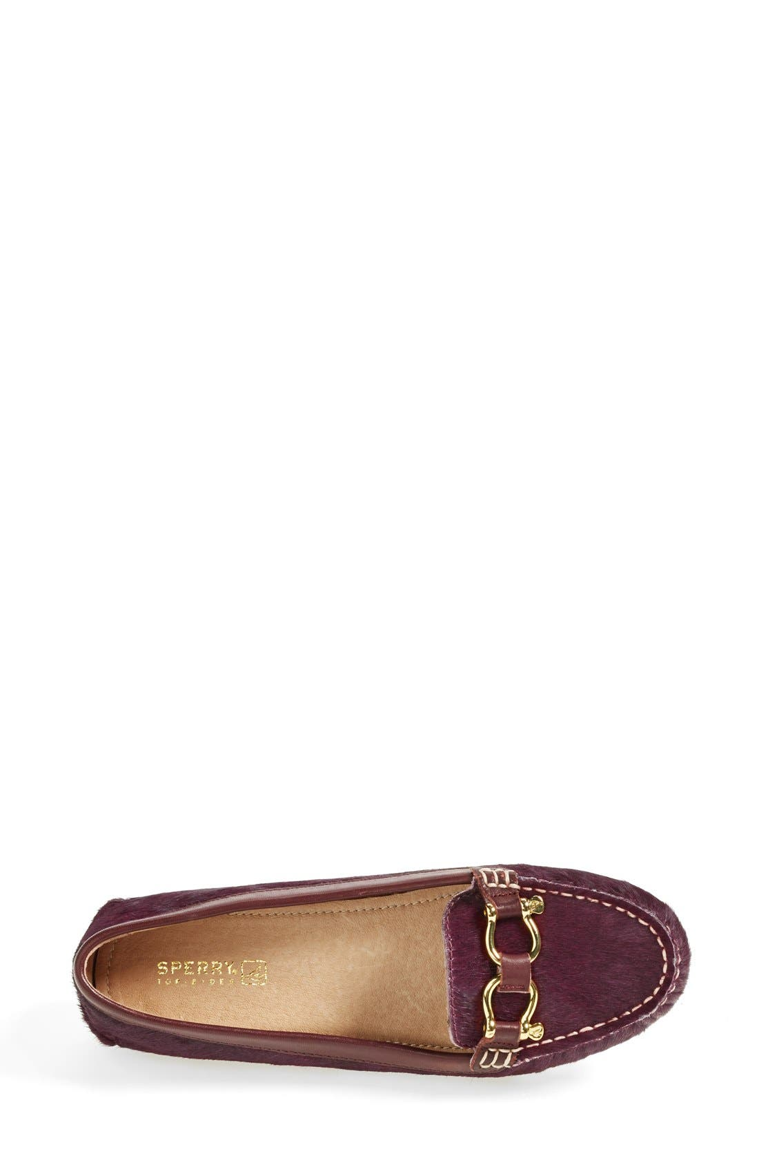 Alternate Image 3  - Sperry Top-Sider® 'Jenna' Metallic Leather Loafer (Online Only) (Women)