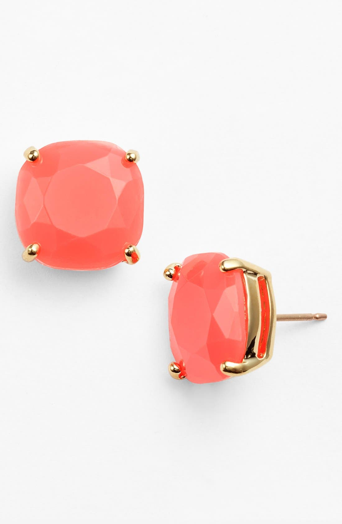 Alternate Image 1 Selected - kate spade new york small square stud earrings