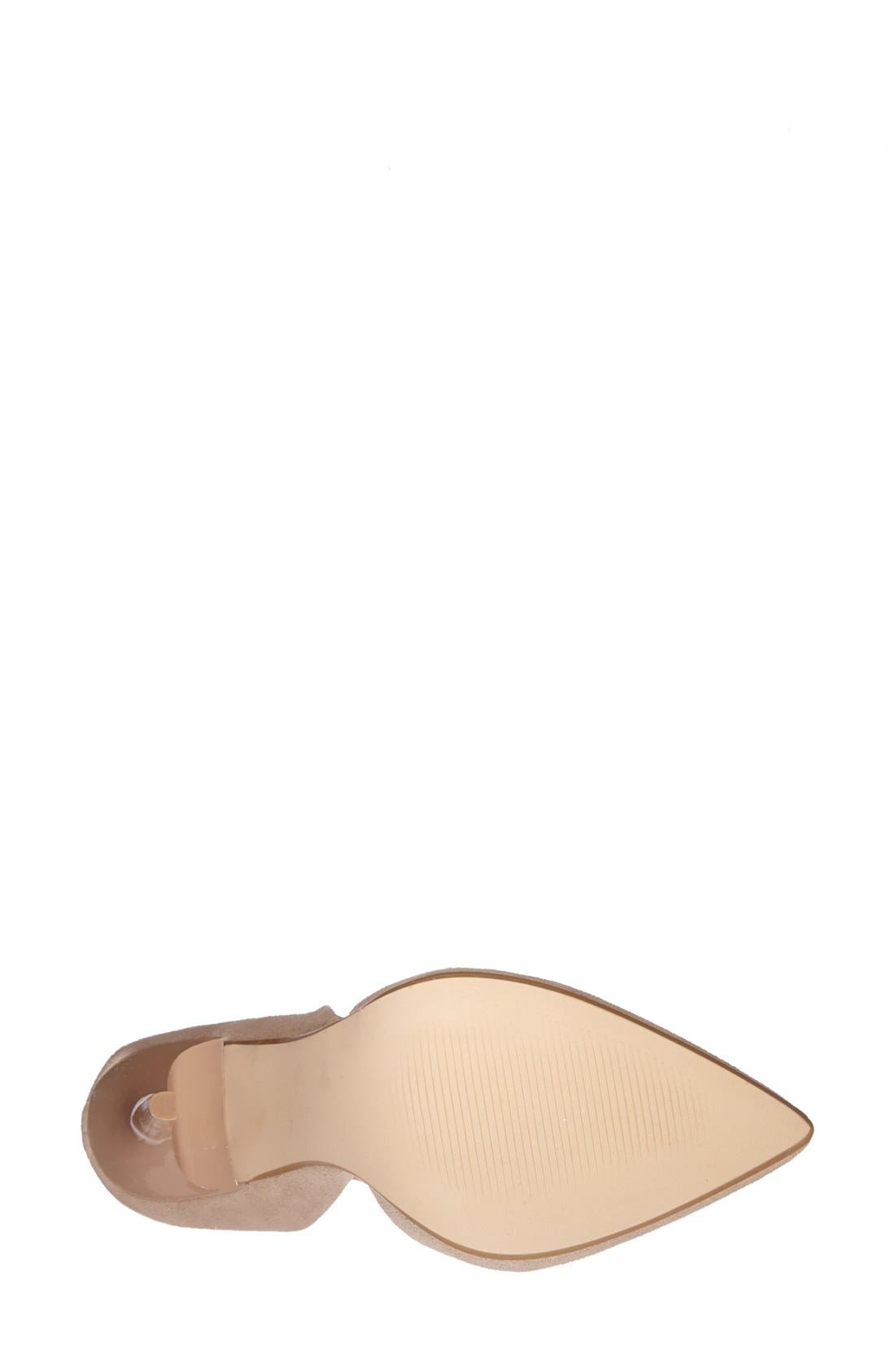 Alternate Image 4  - Steve Madden 'Varcityy' Pointy Toe Pump (Women)