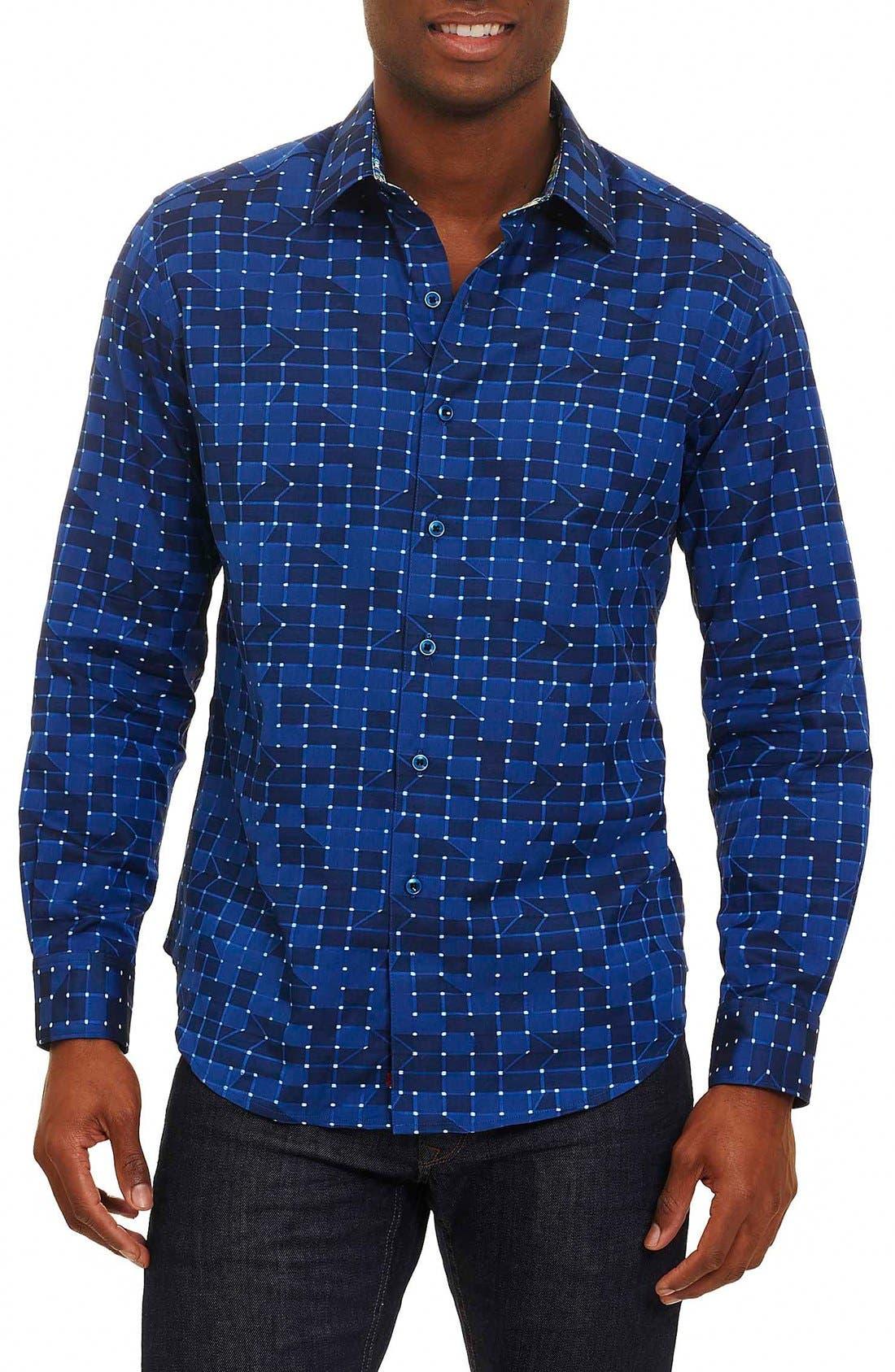 ROBERT GRAHAM Dark Matter Classic Fit Sport Shirt