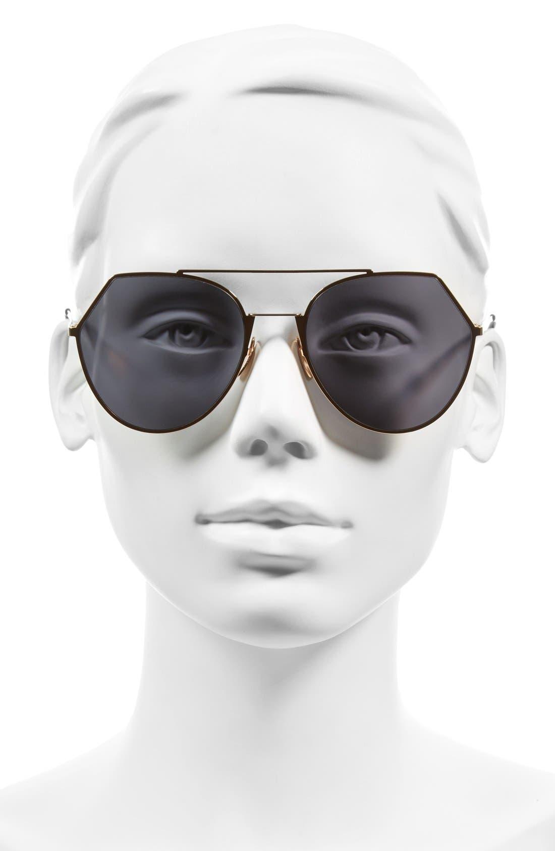 Alternate Image 2  - Fendi Eyeline 55mm Sunglasses