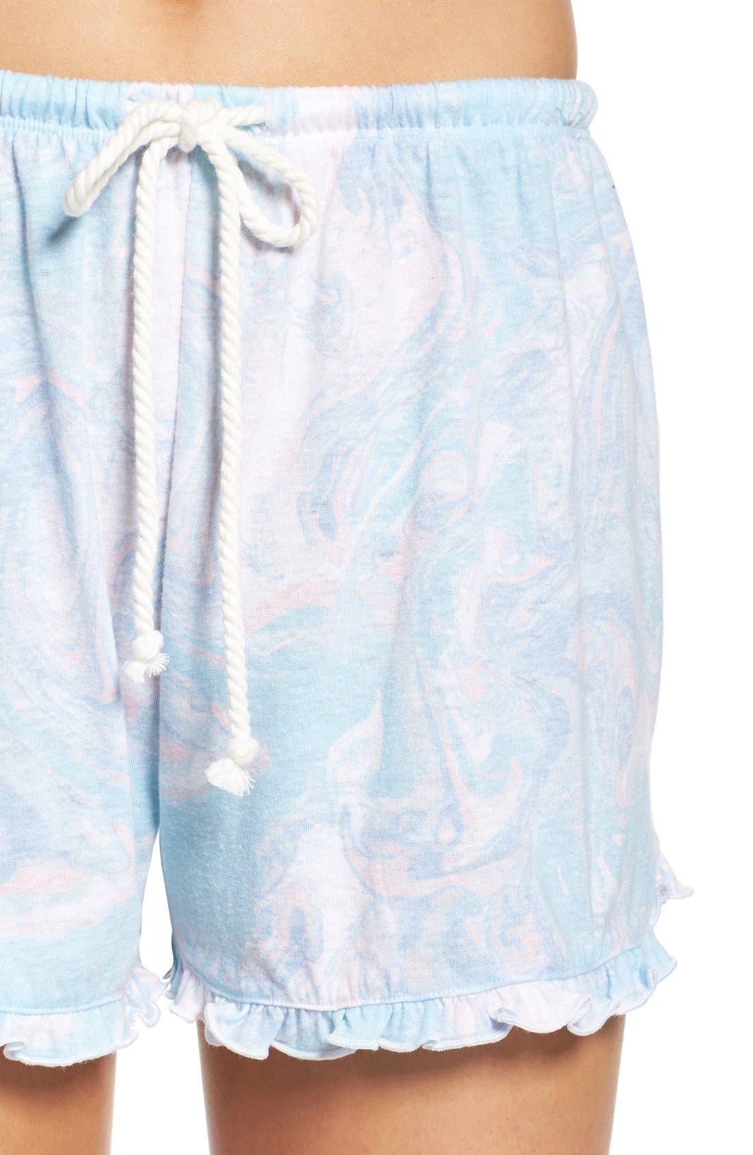 Alternate Image 4  - Make + Model Ruffle Shorts
