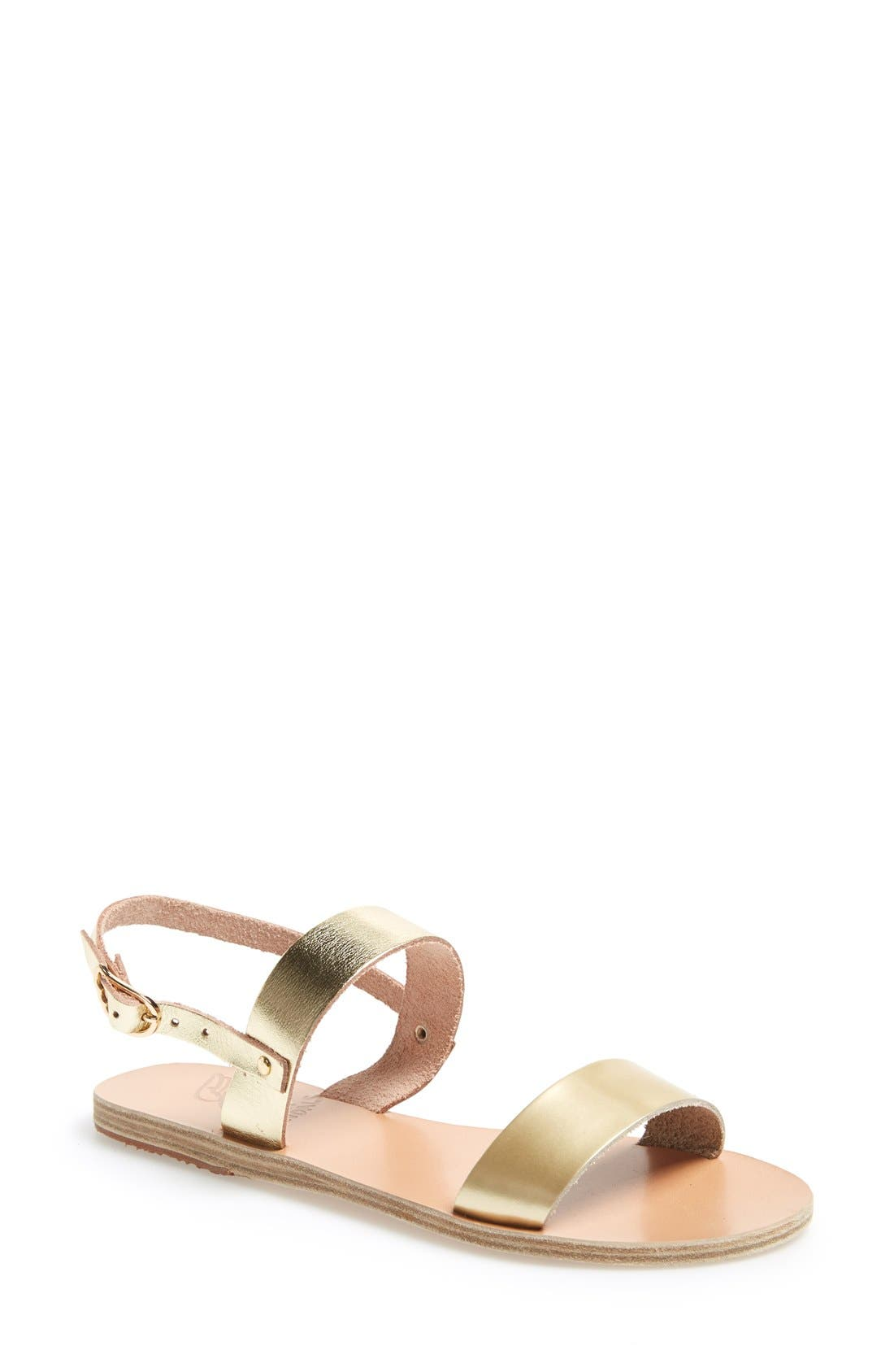 Alternate Image 1 Selected - Ancient Greek Sandals 'Clio' Leather Sandal (Women)