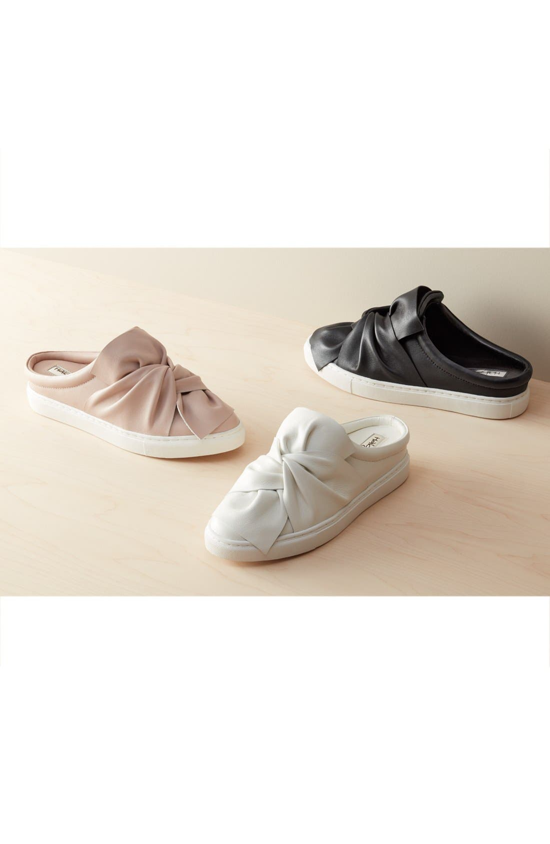 Alternate Image 7  - Halogen® Manny Knotted Slip-On Sneaker (Women)