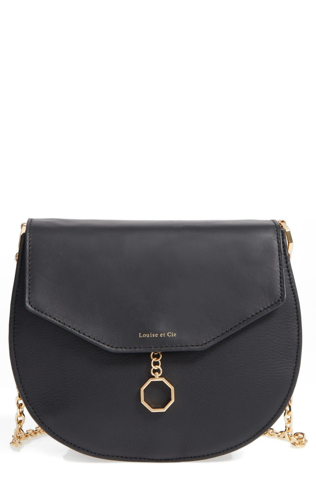 LOUISE ET CIE Jael Leather Crossbody Bag