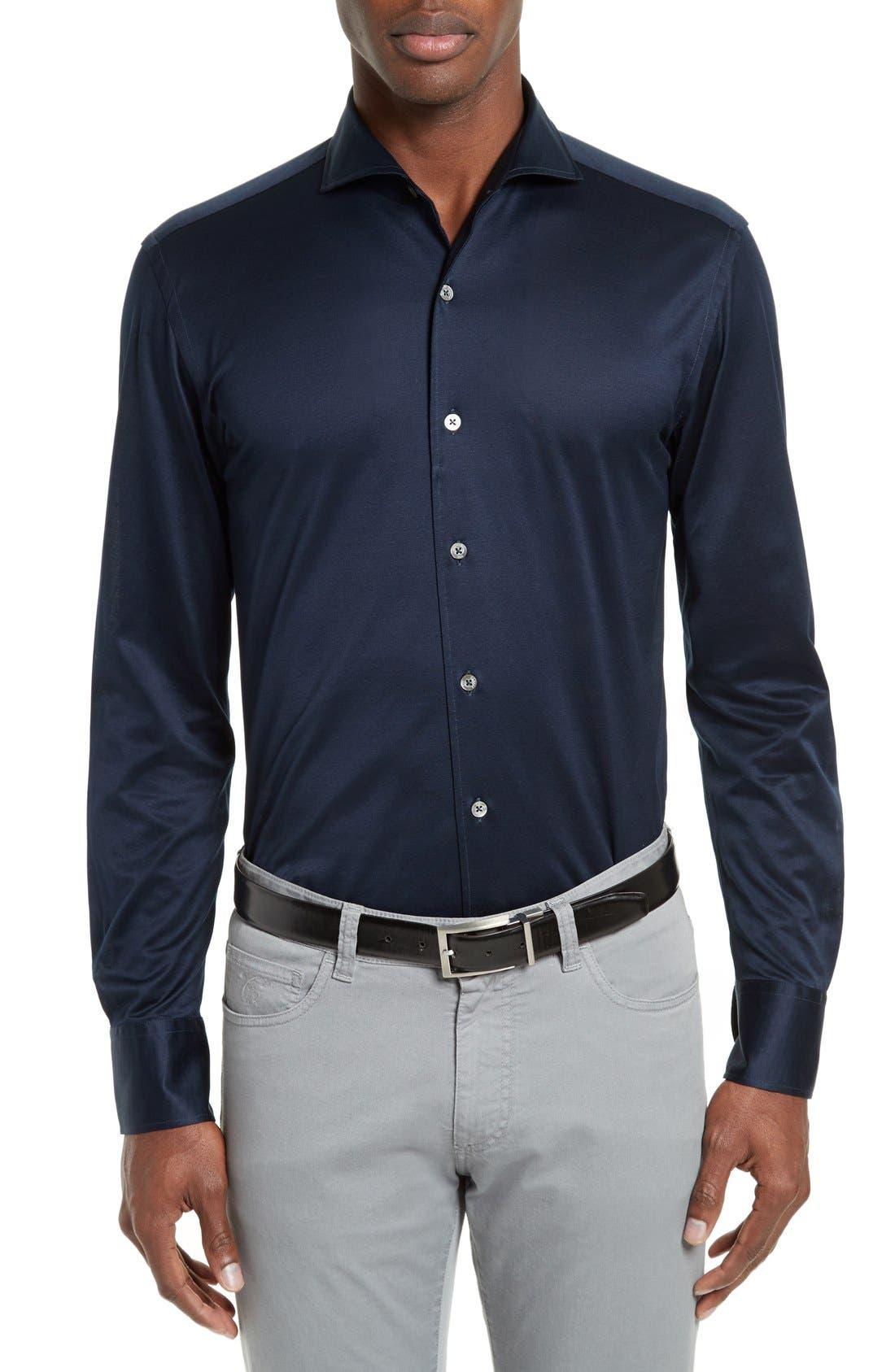 CANALI Slim Fit Sport Shirt