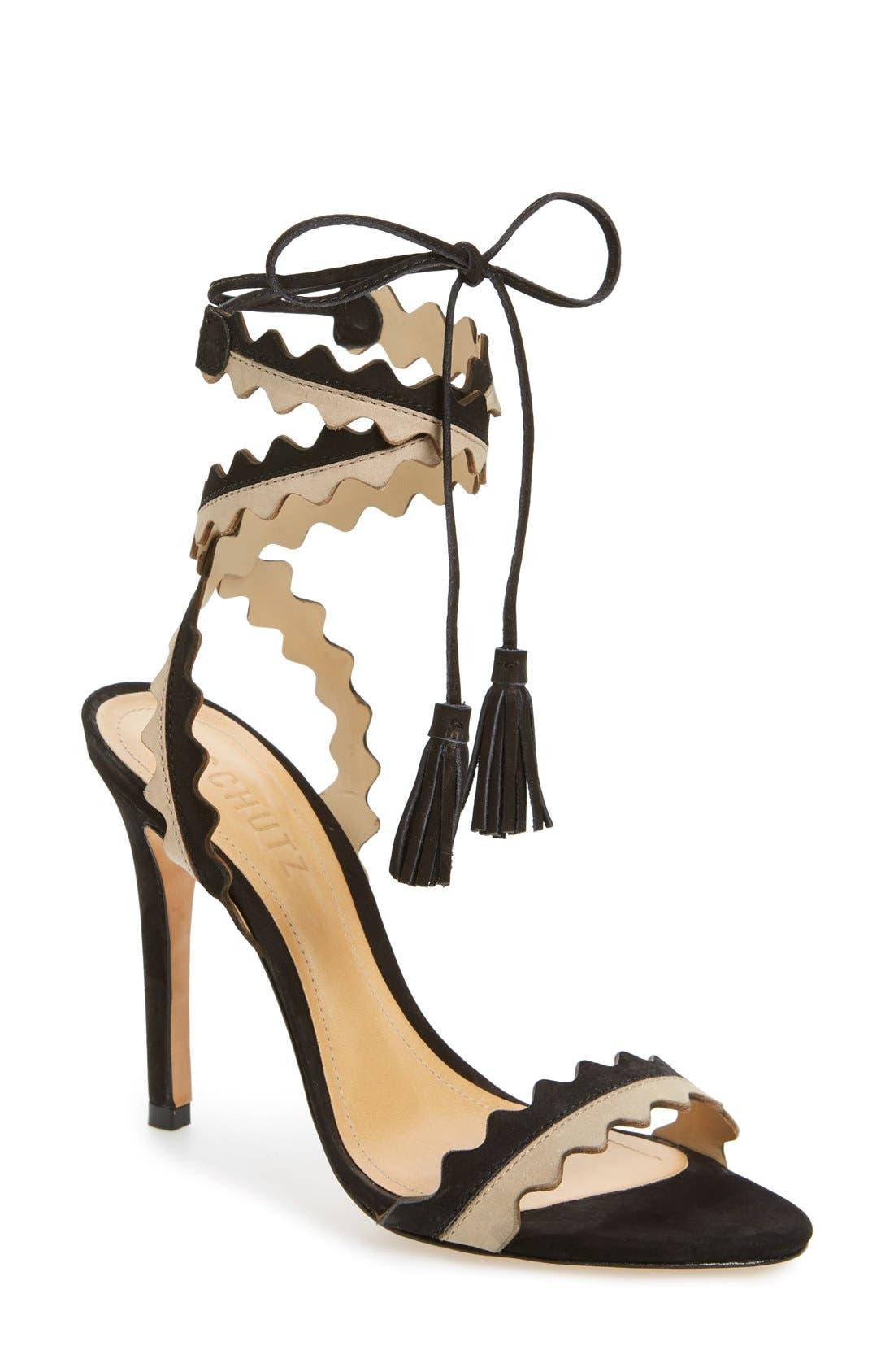 SCHUTZ Lisana Wraparound Sandal