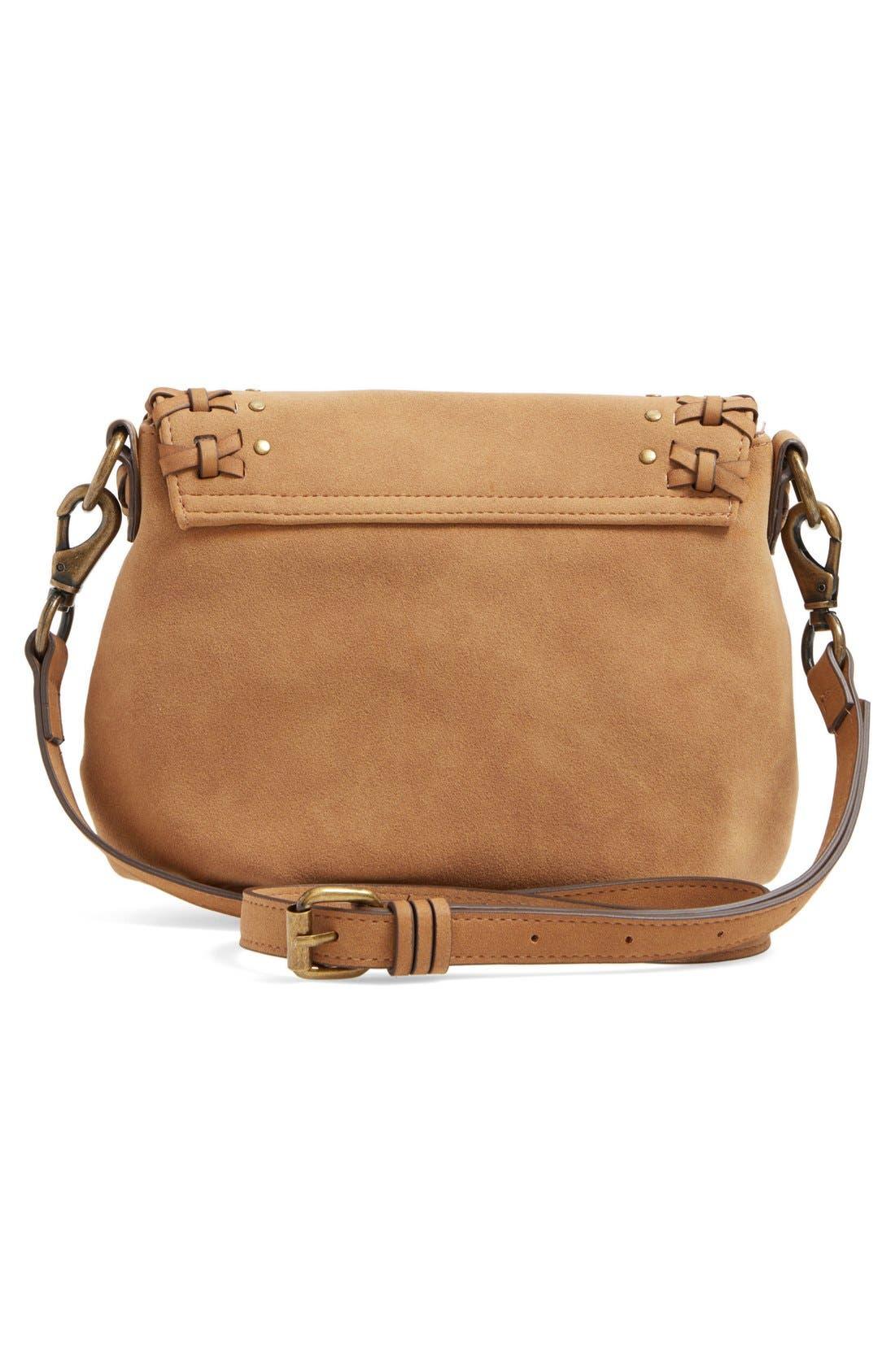 Alternate Image 2  - Elle & Jae Gypset Sevilla Studded Faux Suede Crossbody Bag