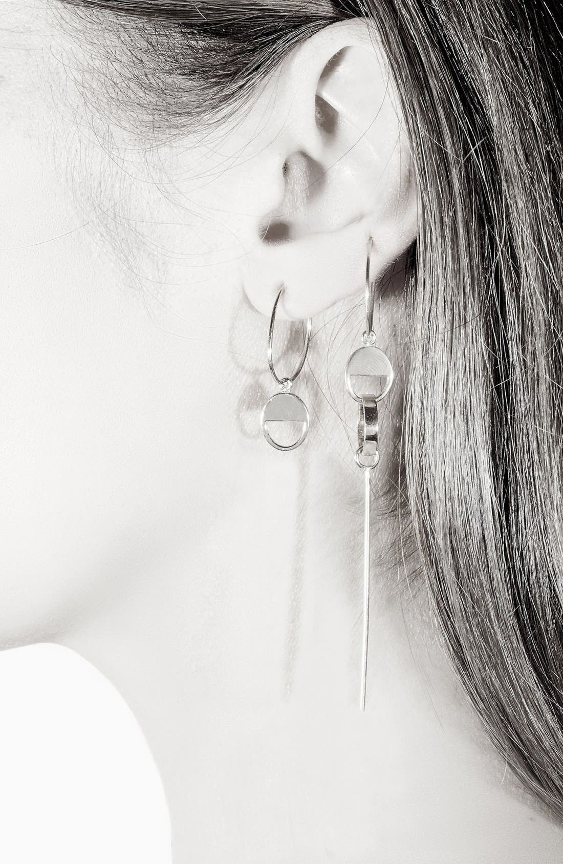 Alternate Image 2  - SARAH & SEBASTIAN Cutout Hoop Earring