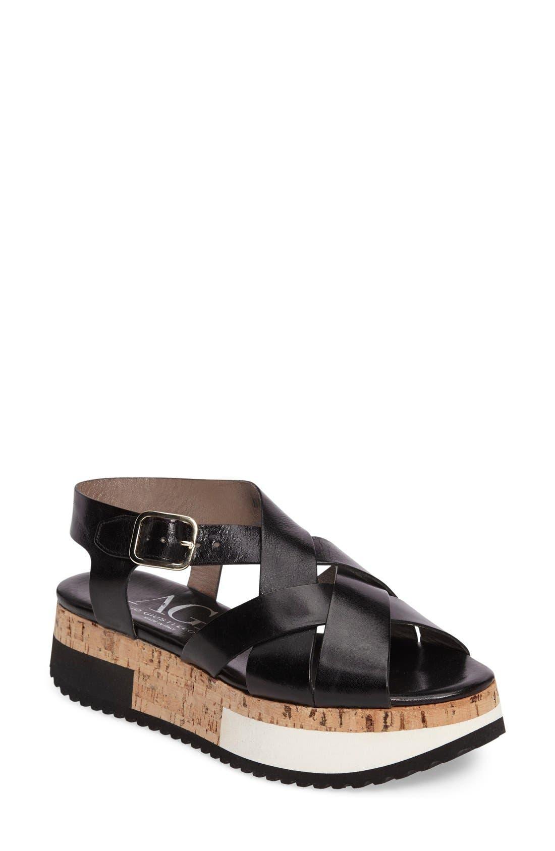 AGL Cork Platform Sandal (Women)