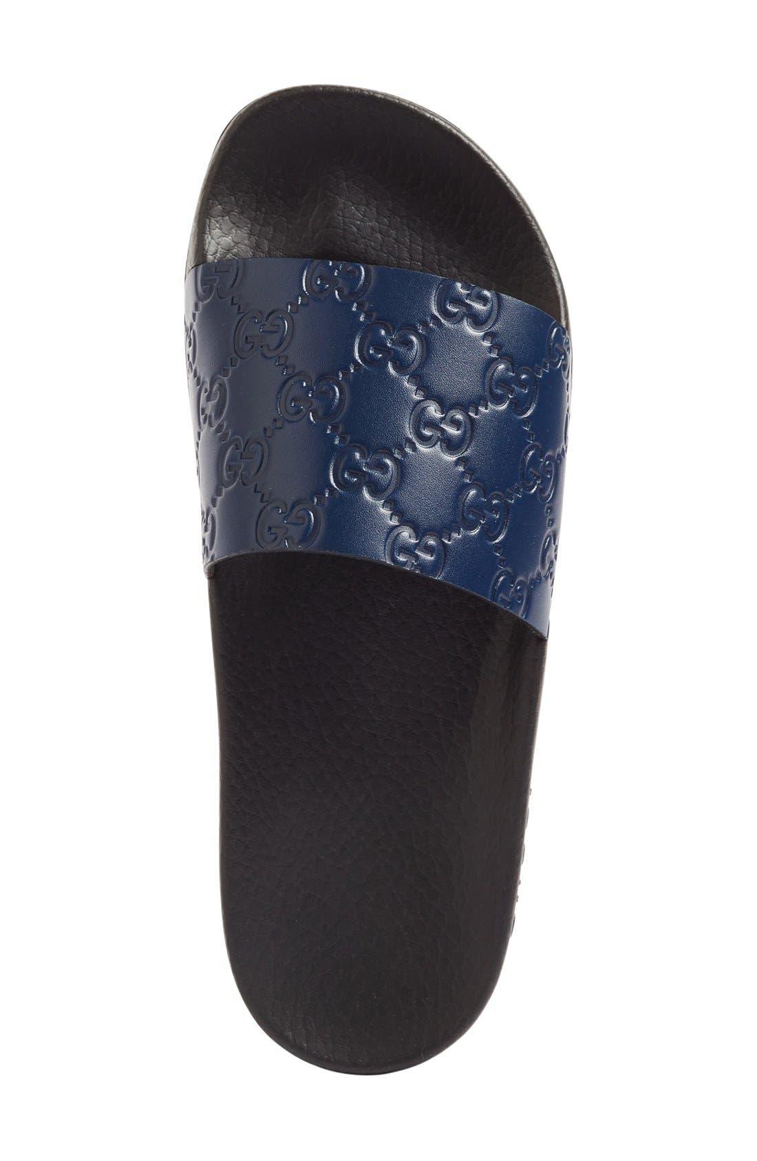 Alternate Image 3  - Gucci Pursuit Logo Slide Sandal (Women)