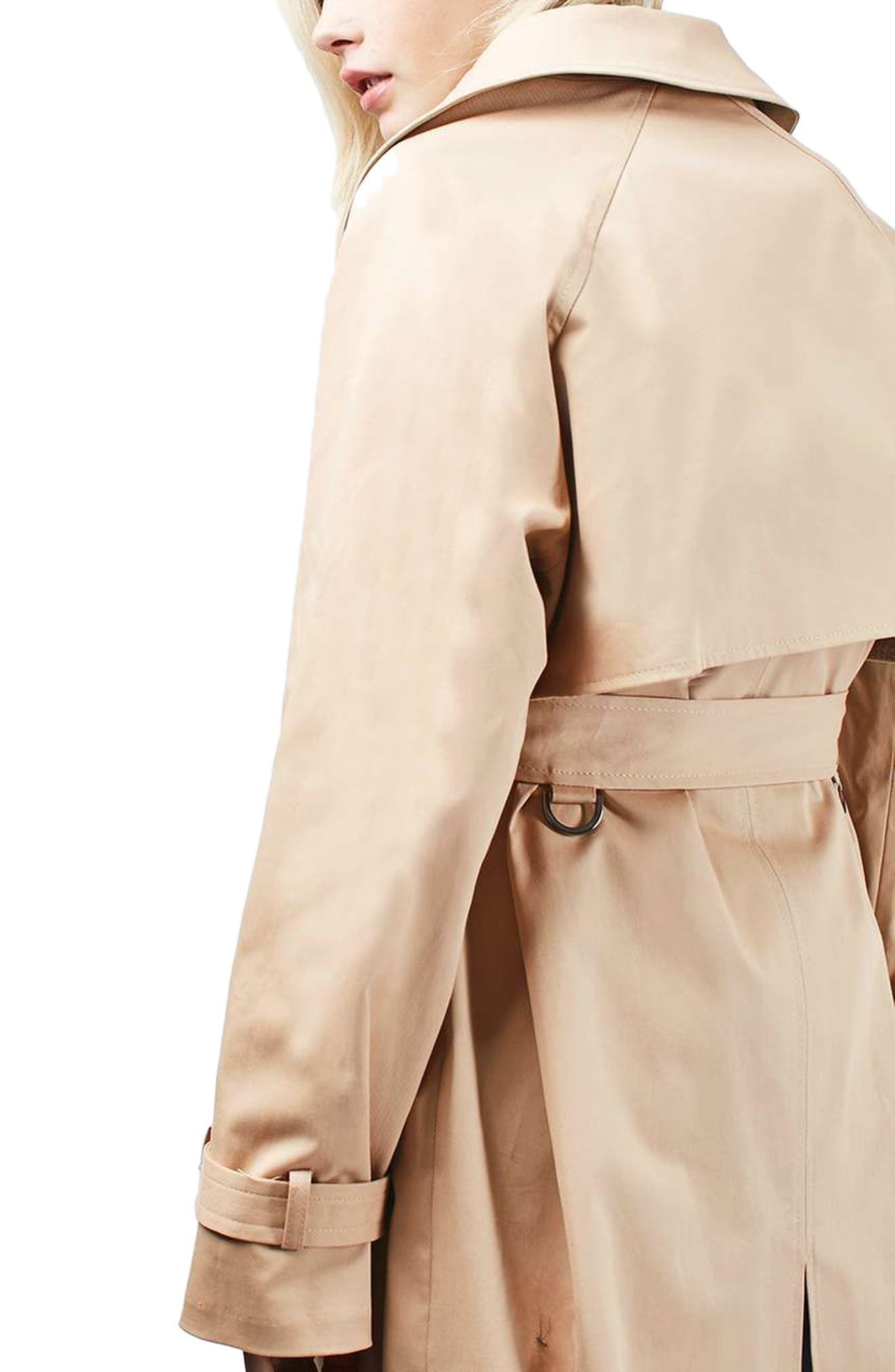 Alternate Image 3  - Topshop Trench Coat