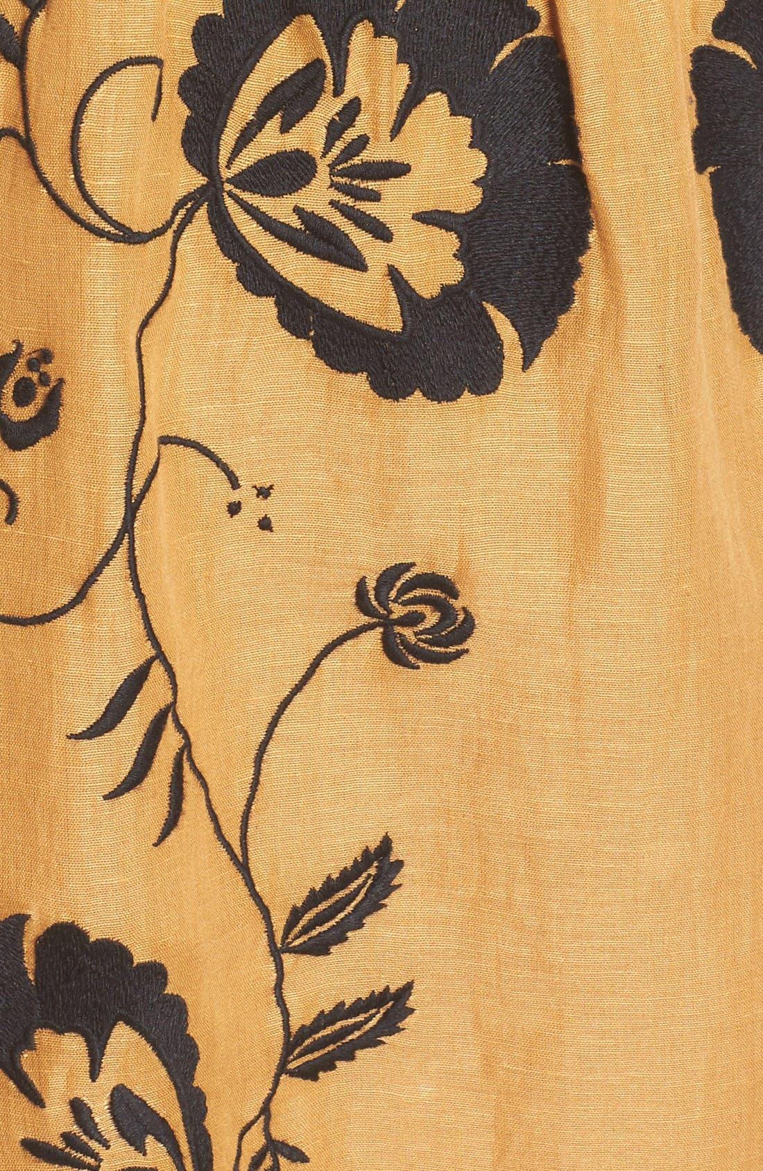 Alternate Image 6  - Tularosa Keeylan Embroidered Dress
