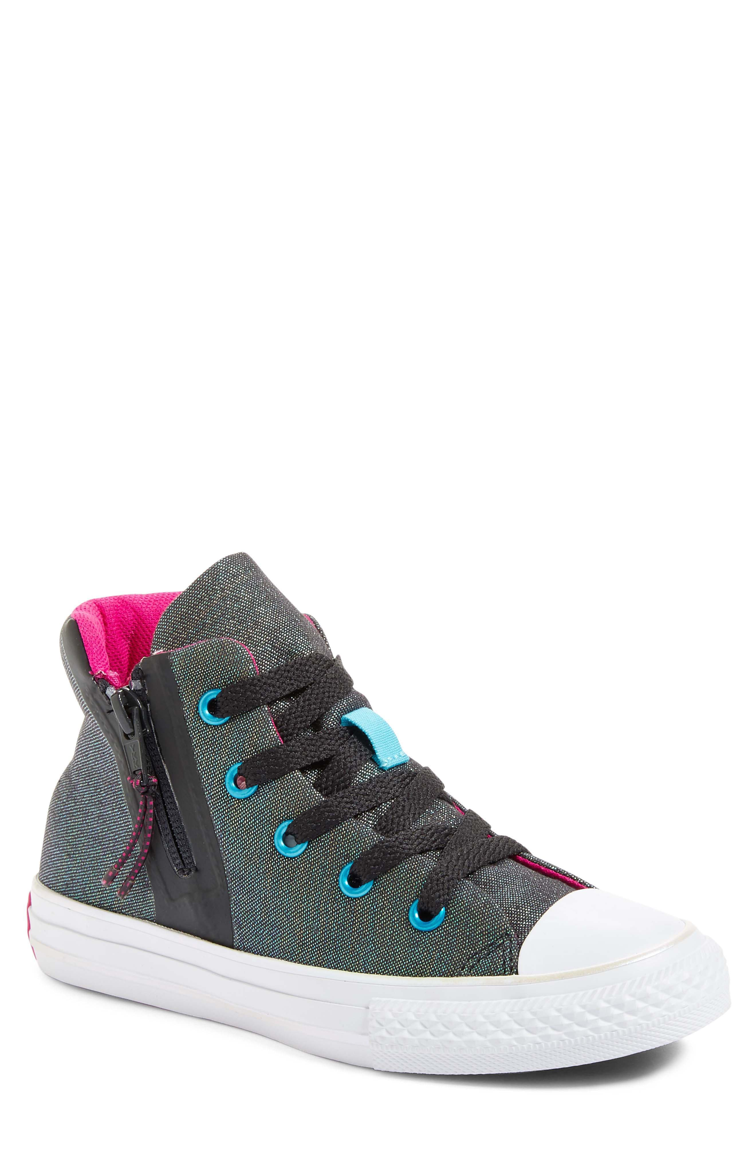 Converse Chuck Taylor® All Star® Shine High Top Sneaker (Baby, Walker, Toddler, Little Kid & Big Kid)