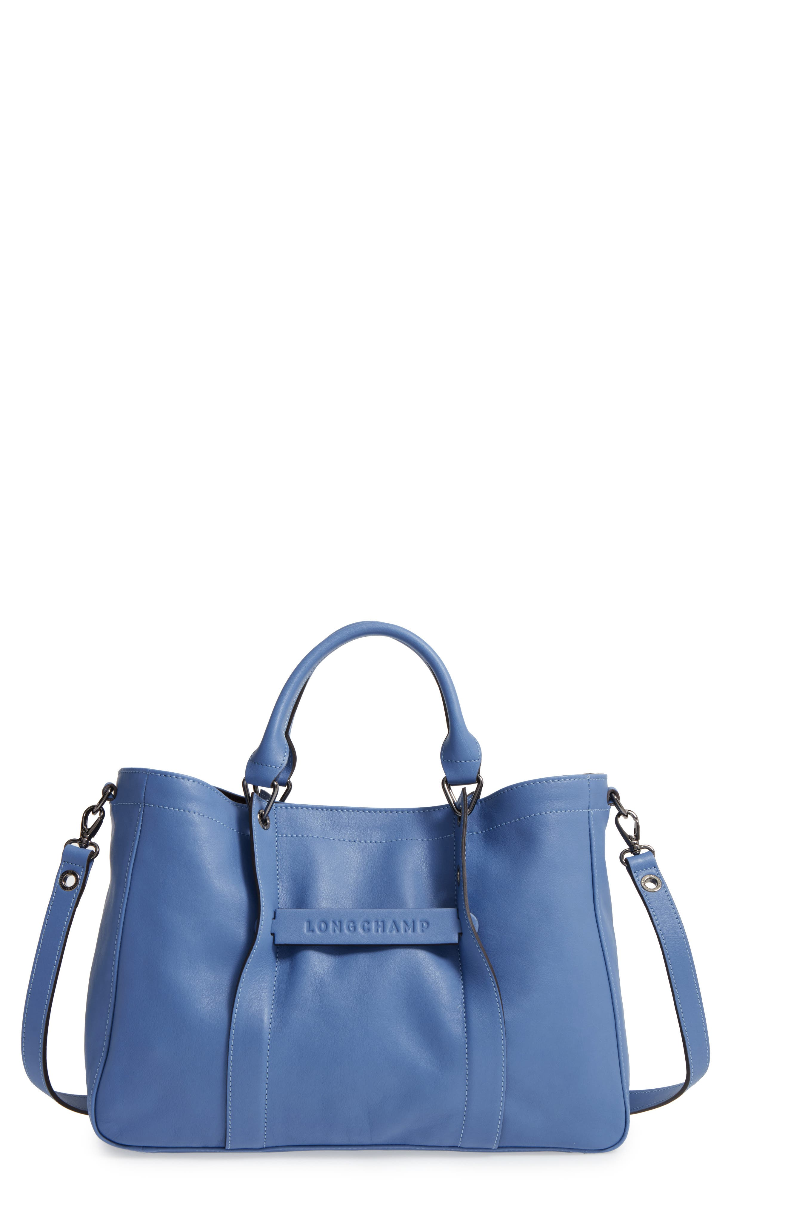 Main Image - Longchamp '3D - Small' Leather Tote