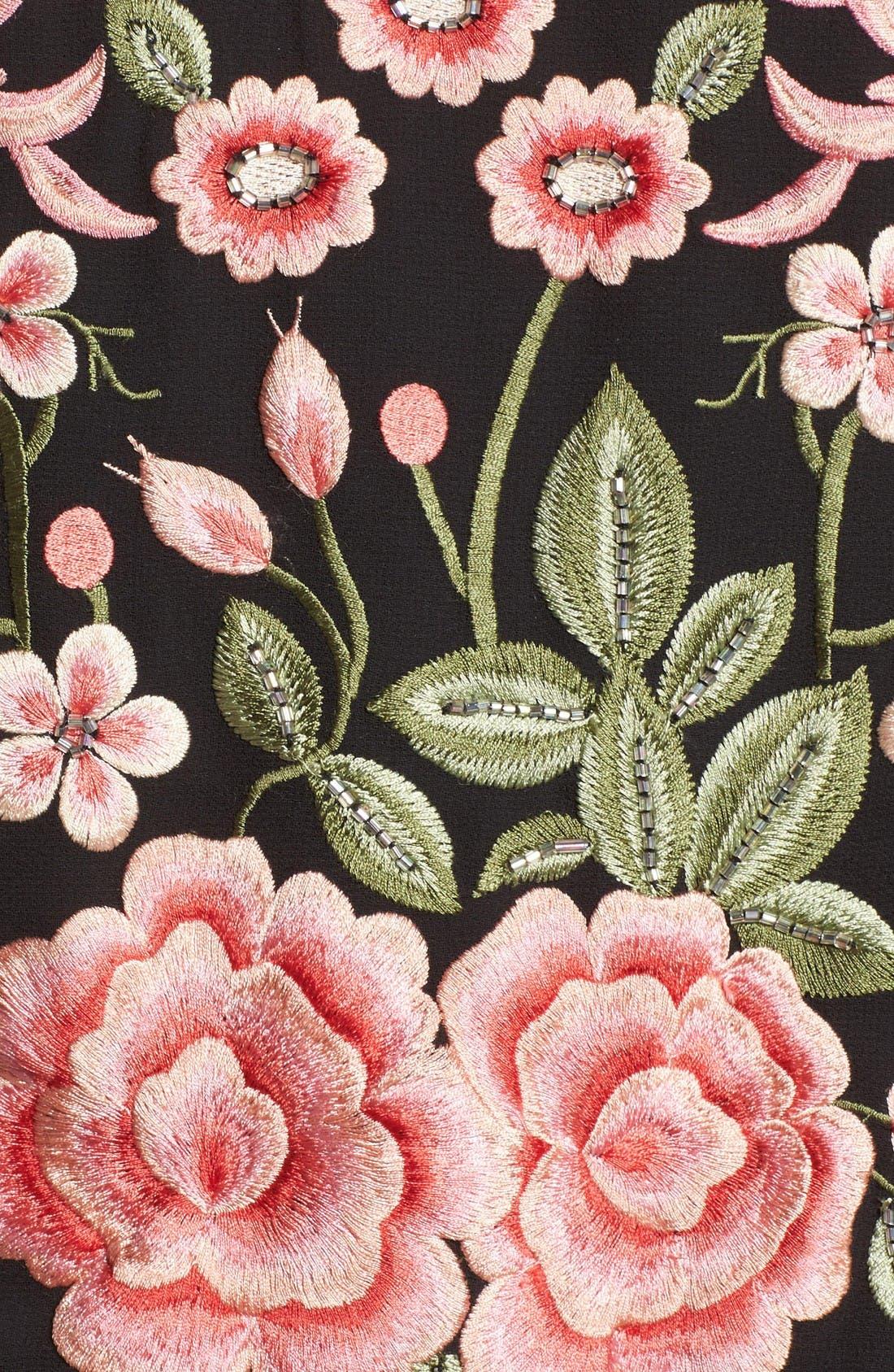 Alternate Image 5  - Needle & Thread Embroidered Bomber Jacket