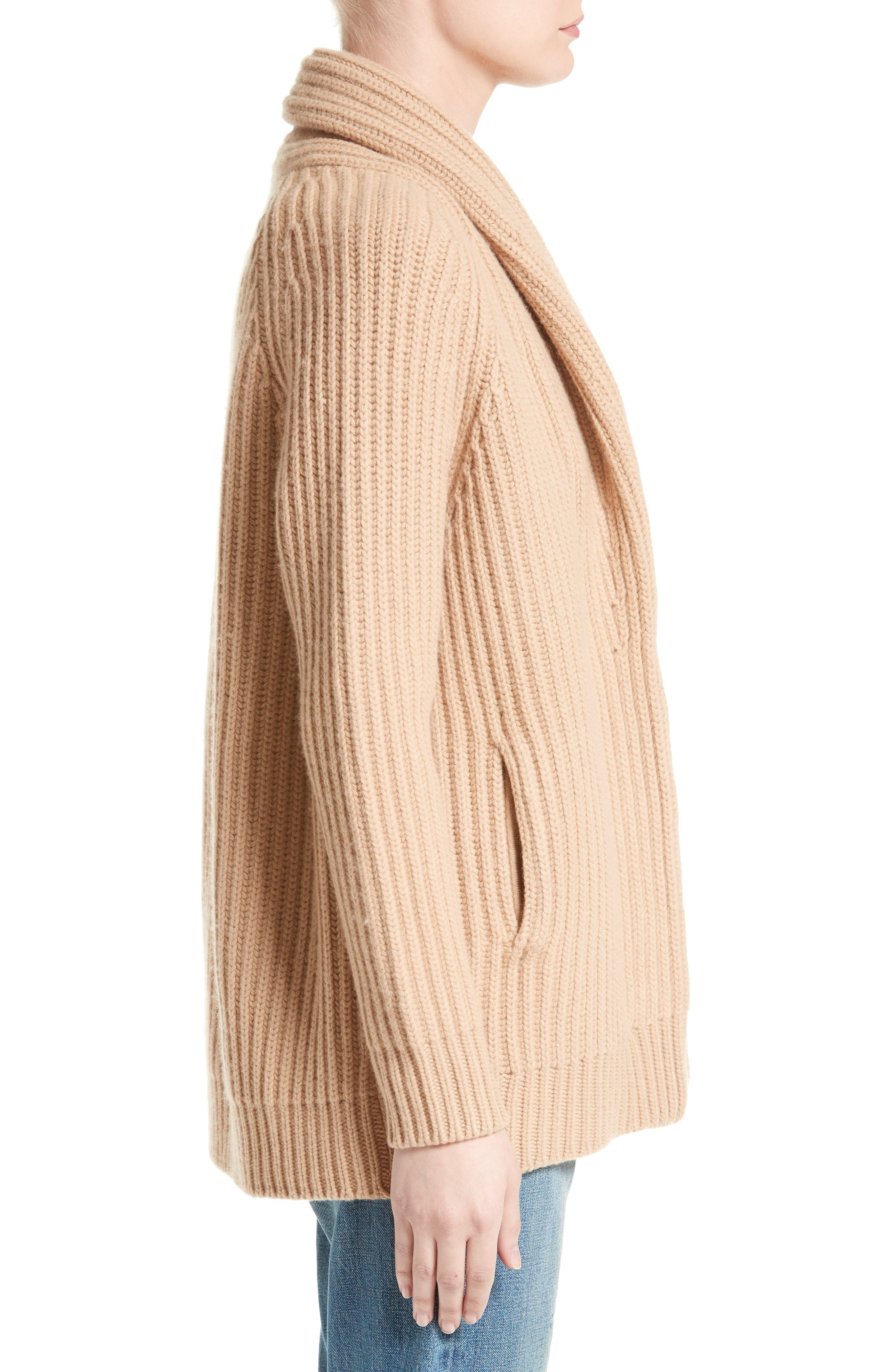 Alternate Image 3  - Vince Wool & Cashmere Knit Car Coat