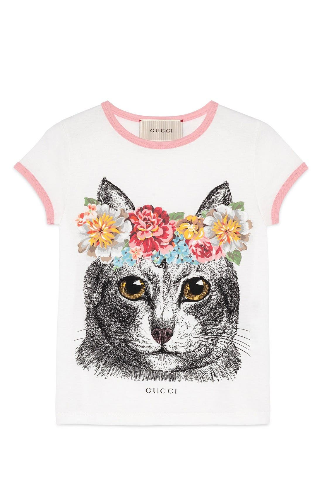 GUCCI Cat Graphic Tee