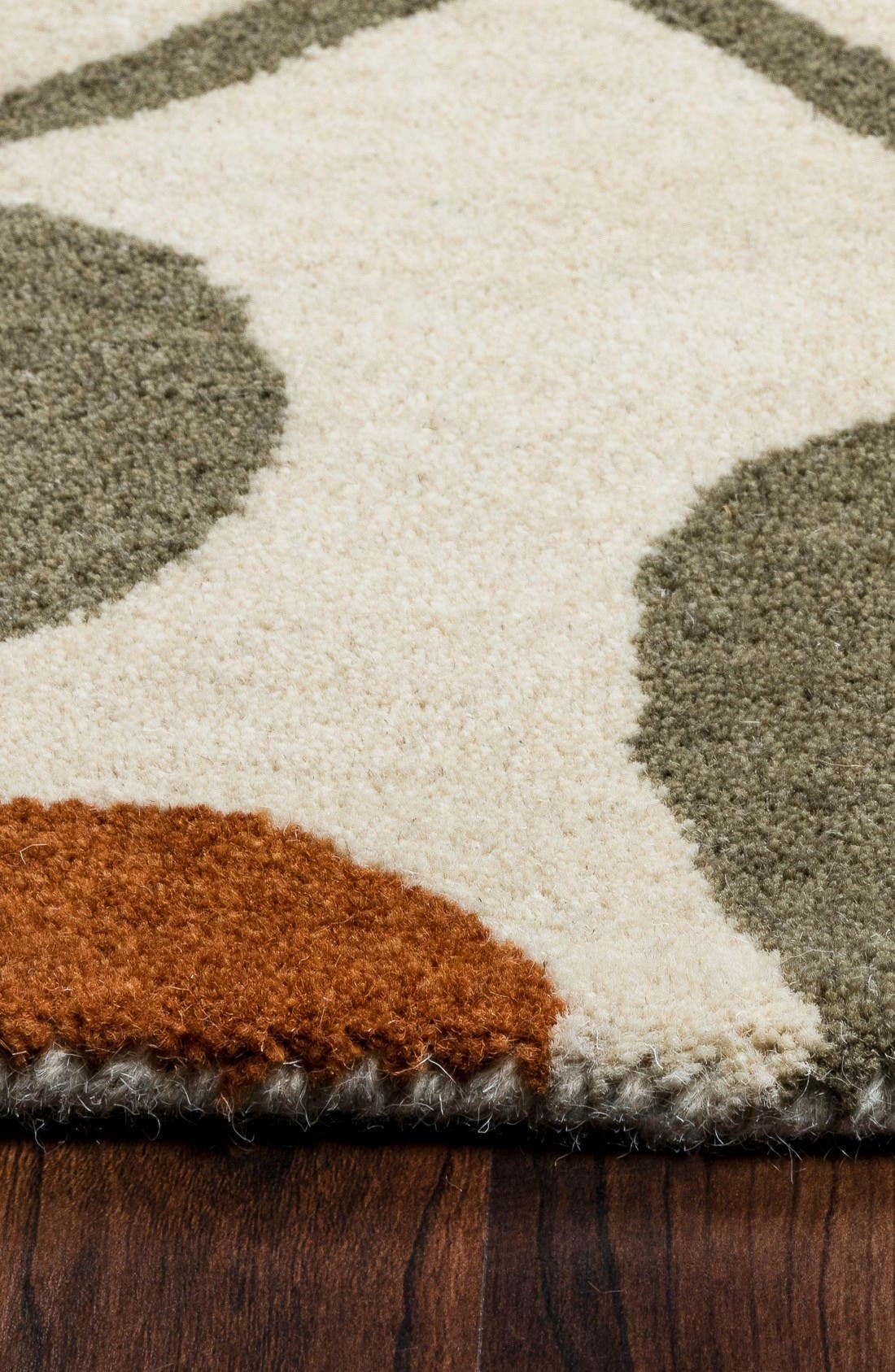 Alternate Image 3  - Rizzy Home Zoe Hand Tufted Wool Area Rug