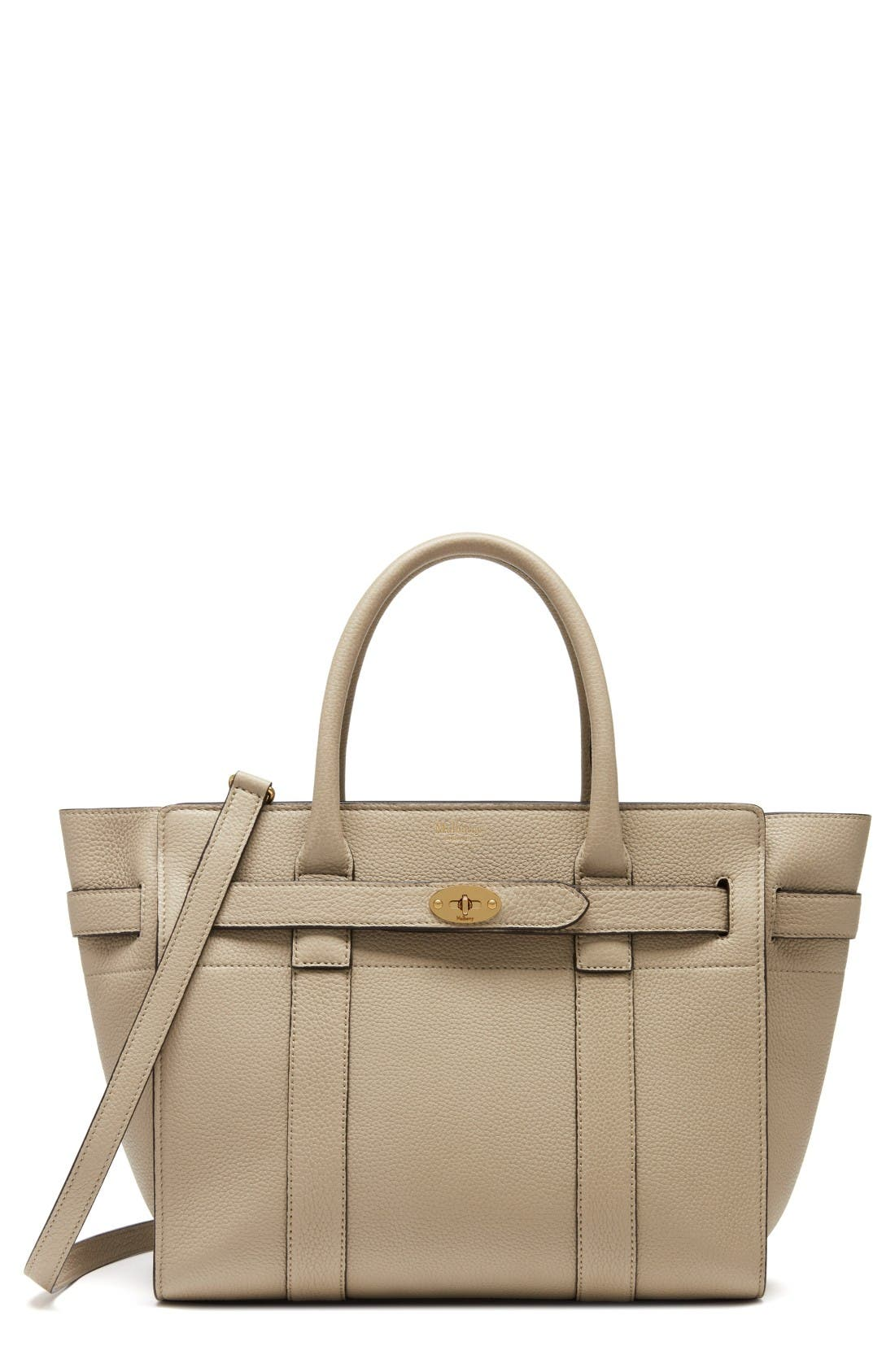 MULBERRY Small Zipped Bayswater Leather Satchel