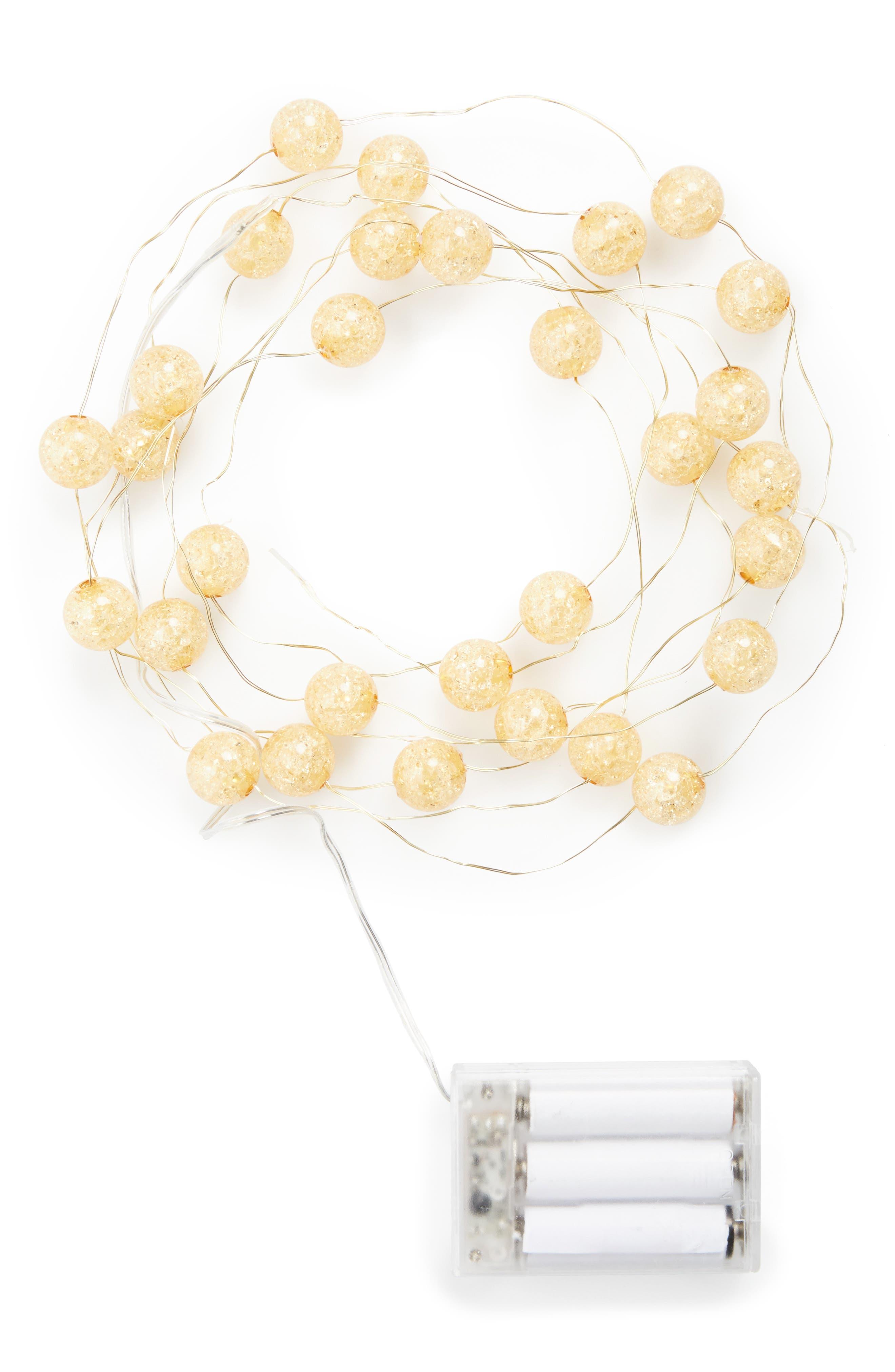 Main Image - Arty 'Crackle' Ball Lights