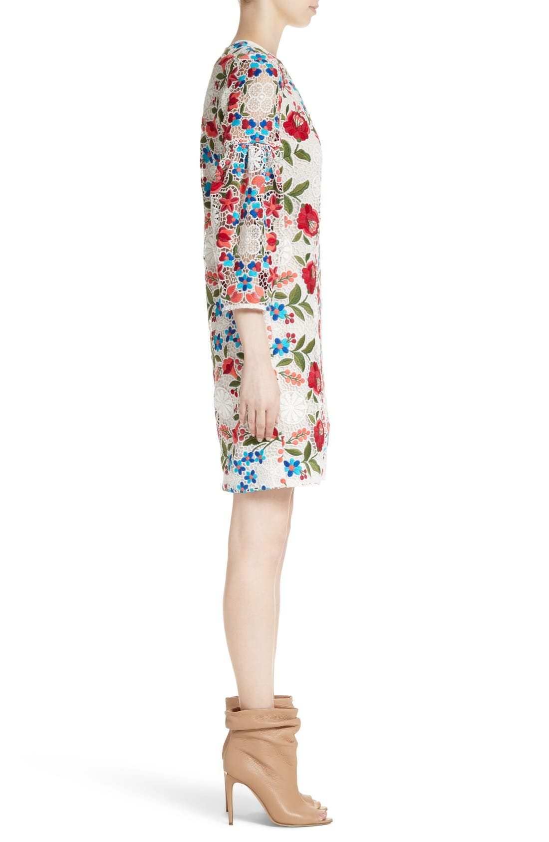 Alternate Image 5  - Burberry Carrie Embroidered Lace Dress