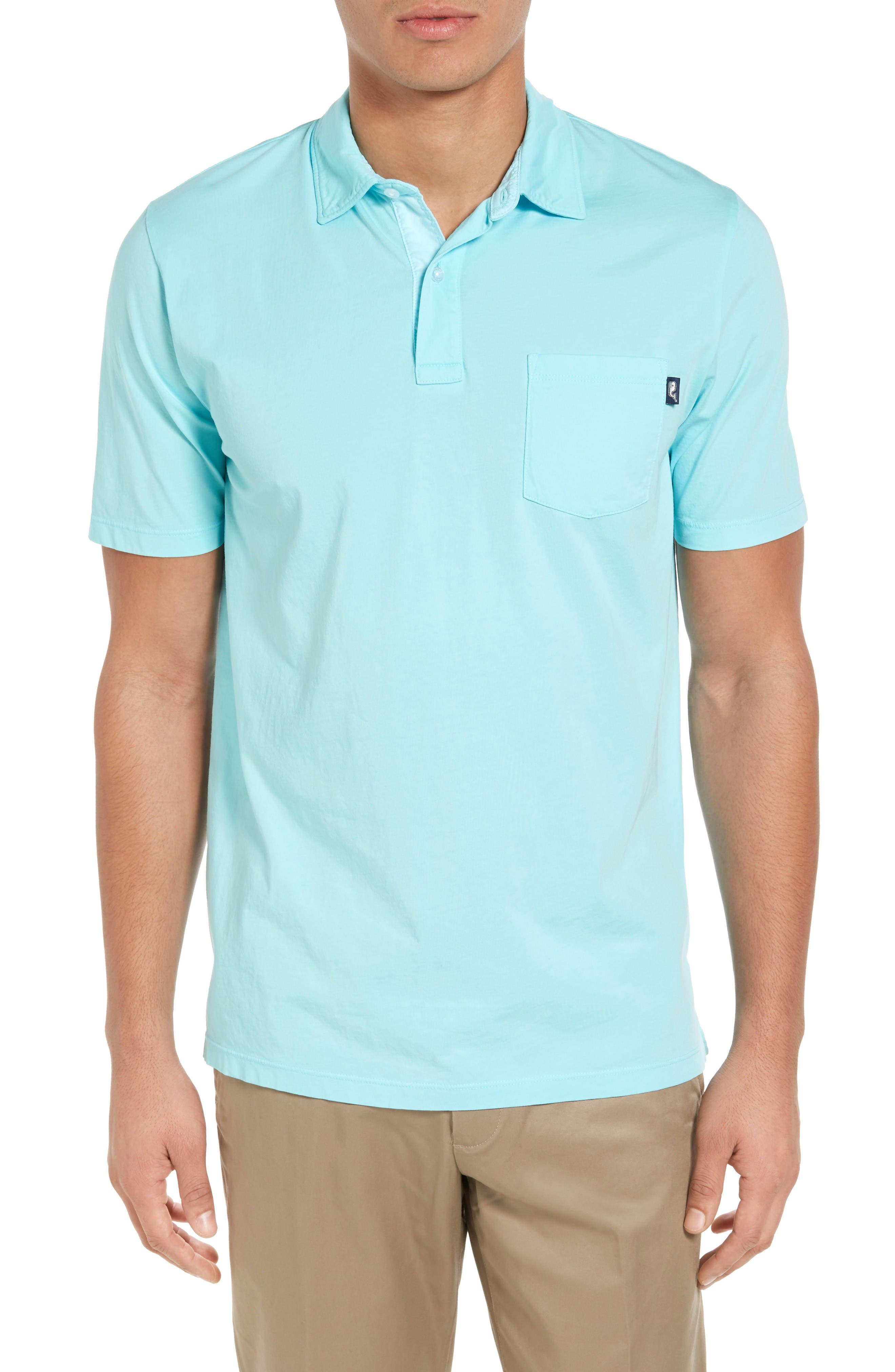 Vineyard Vines Garment Dyed Jersey Polo