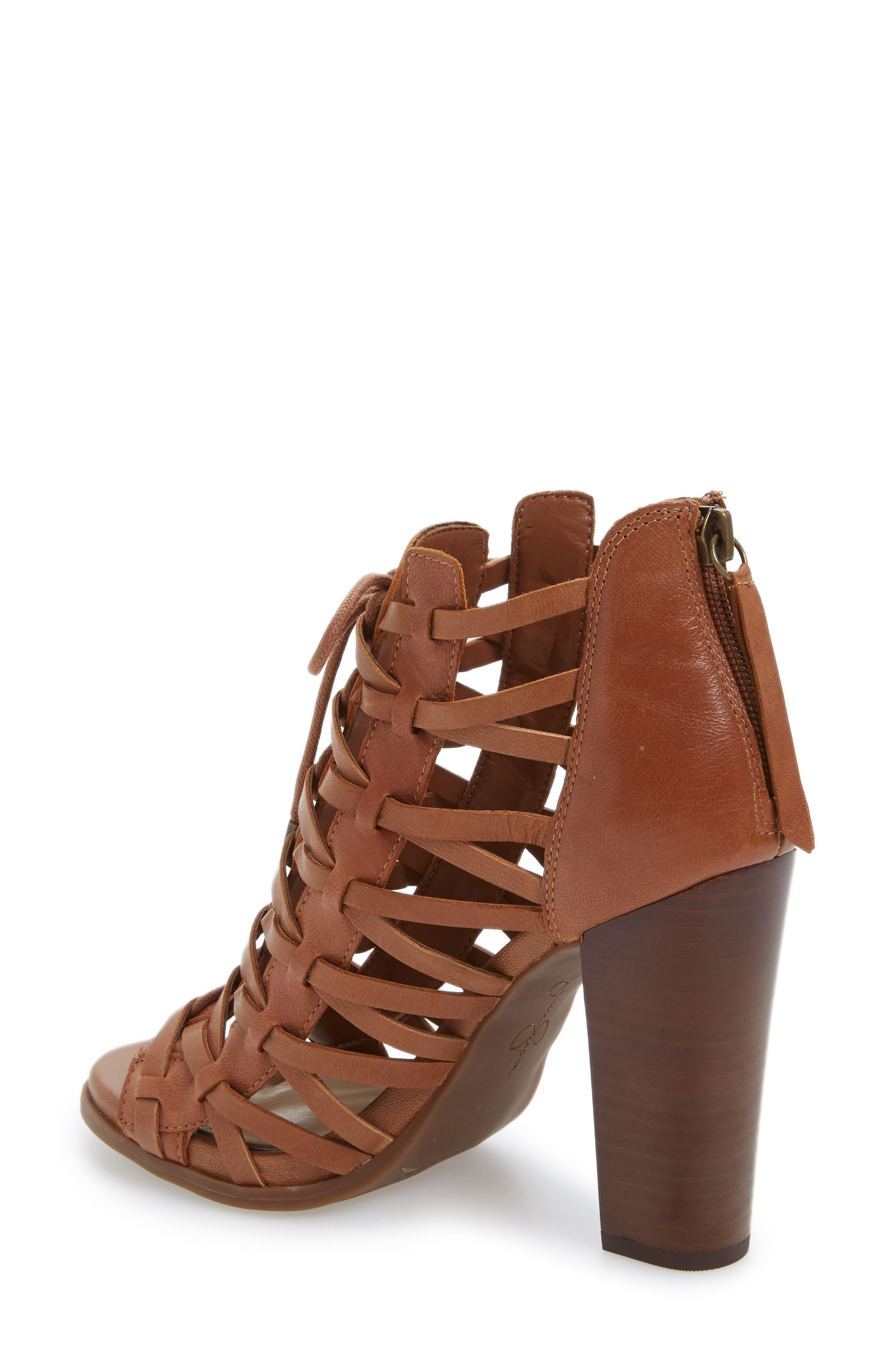Alternate Image 2  - Jessica Simpson Riana Lace-Up Bootie (Women)