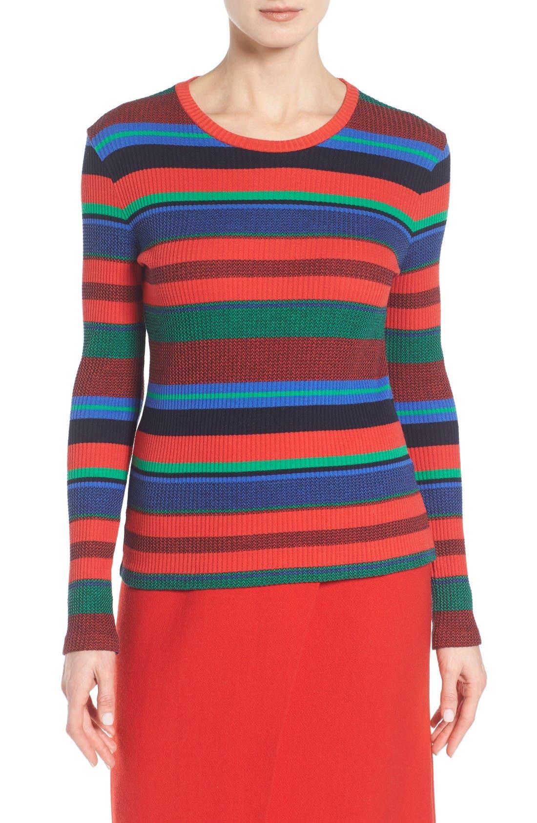 BOSS Eriba Stripe Pullover