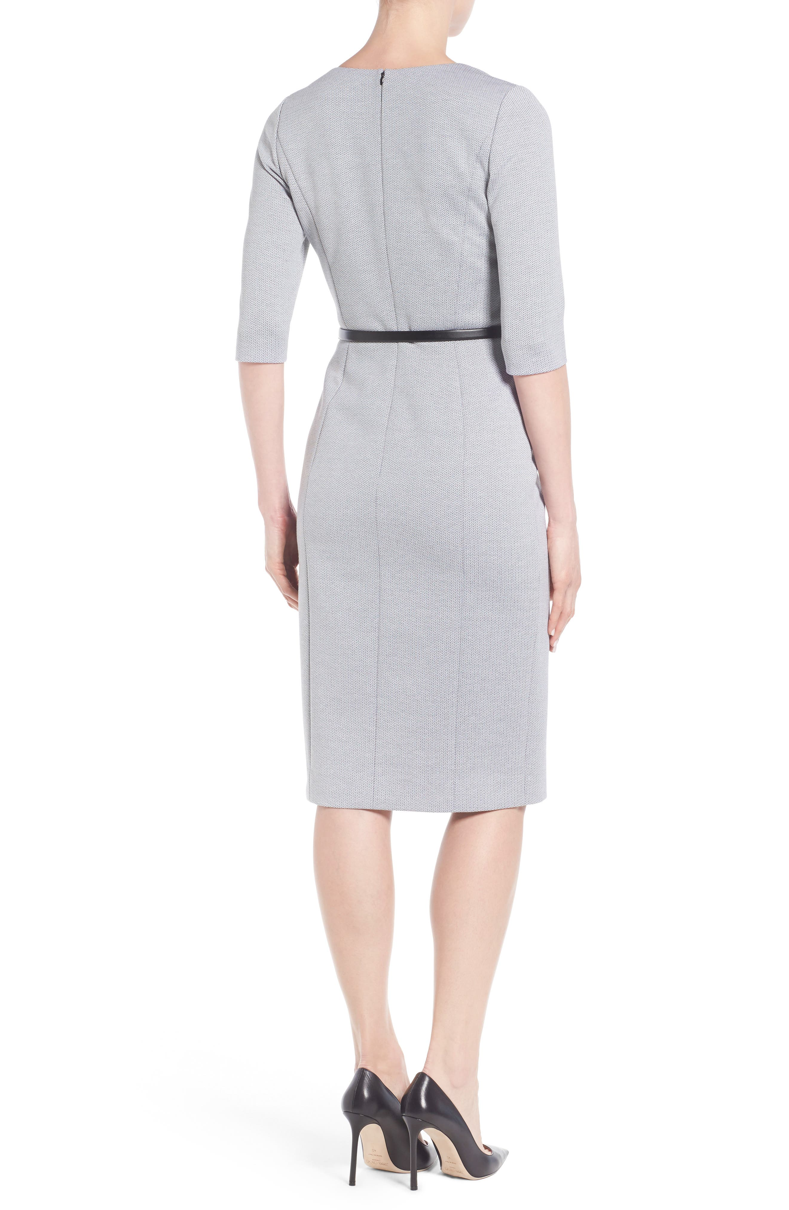 Alternate Image 2  - Classiques Entier® Stretch Knit Sheath Dress