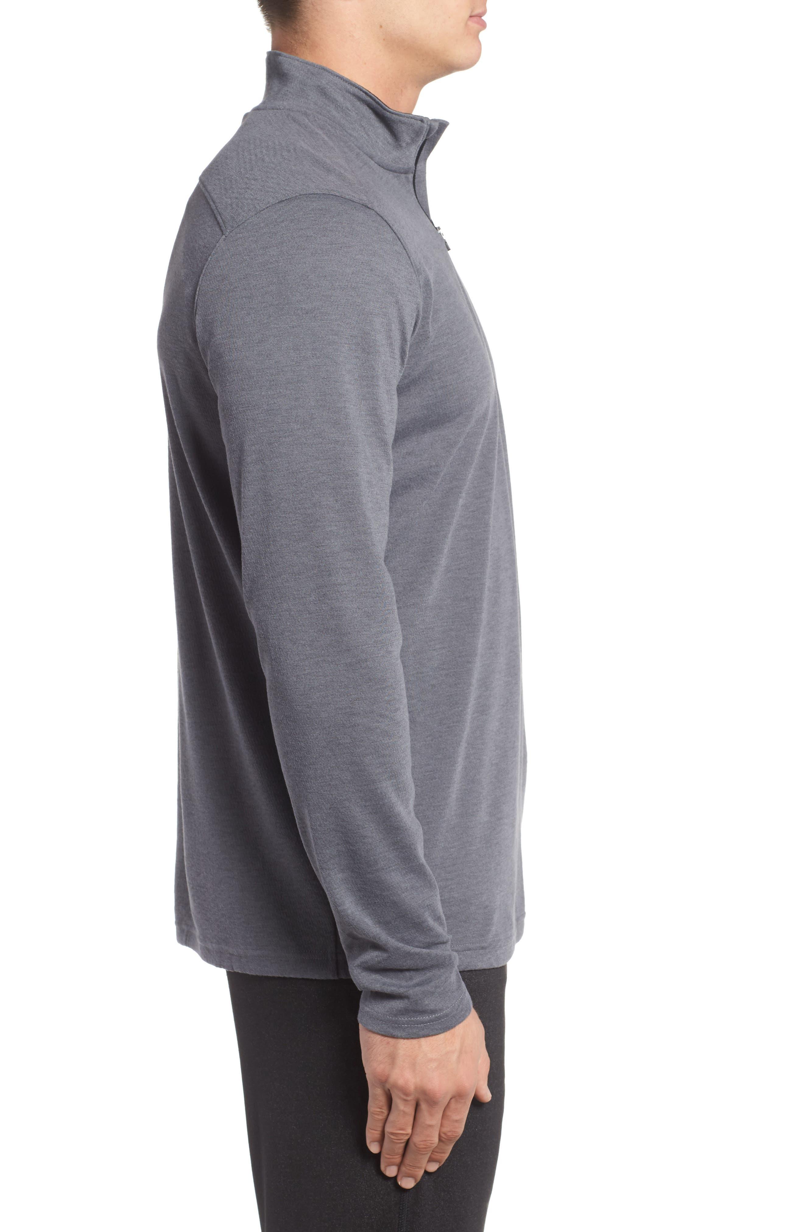 Alternate Image 3  - Under Armour ColdGear® Quarter-Zip Pullover