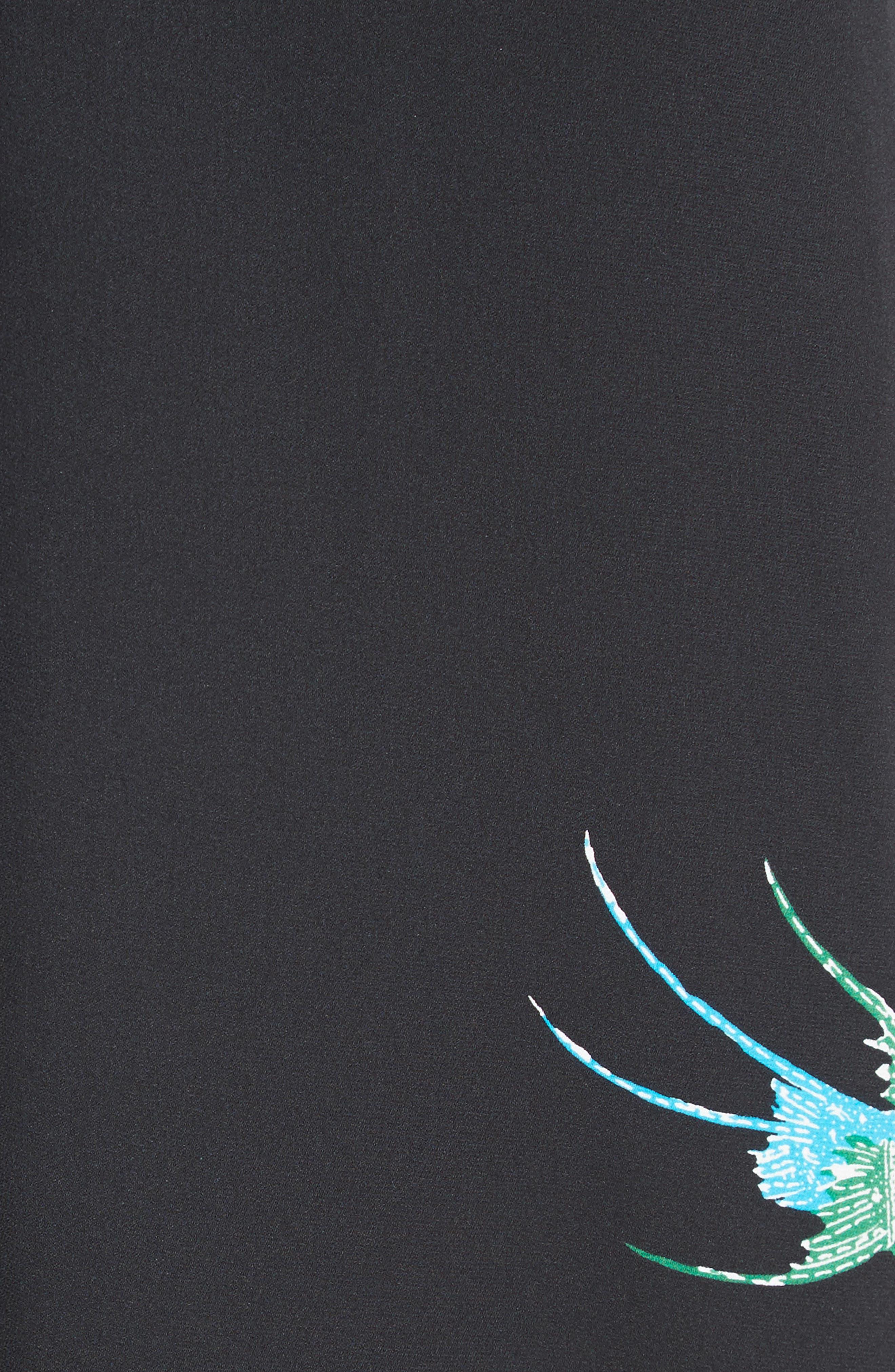 Alternate Image 5  - Diane von Furstenberg Asymmetrical Ruffle Midi Dress