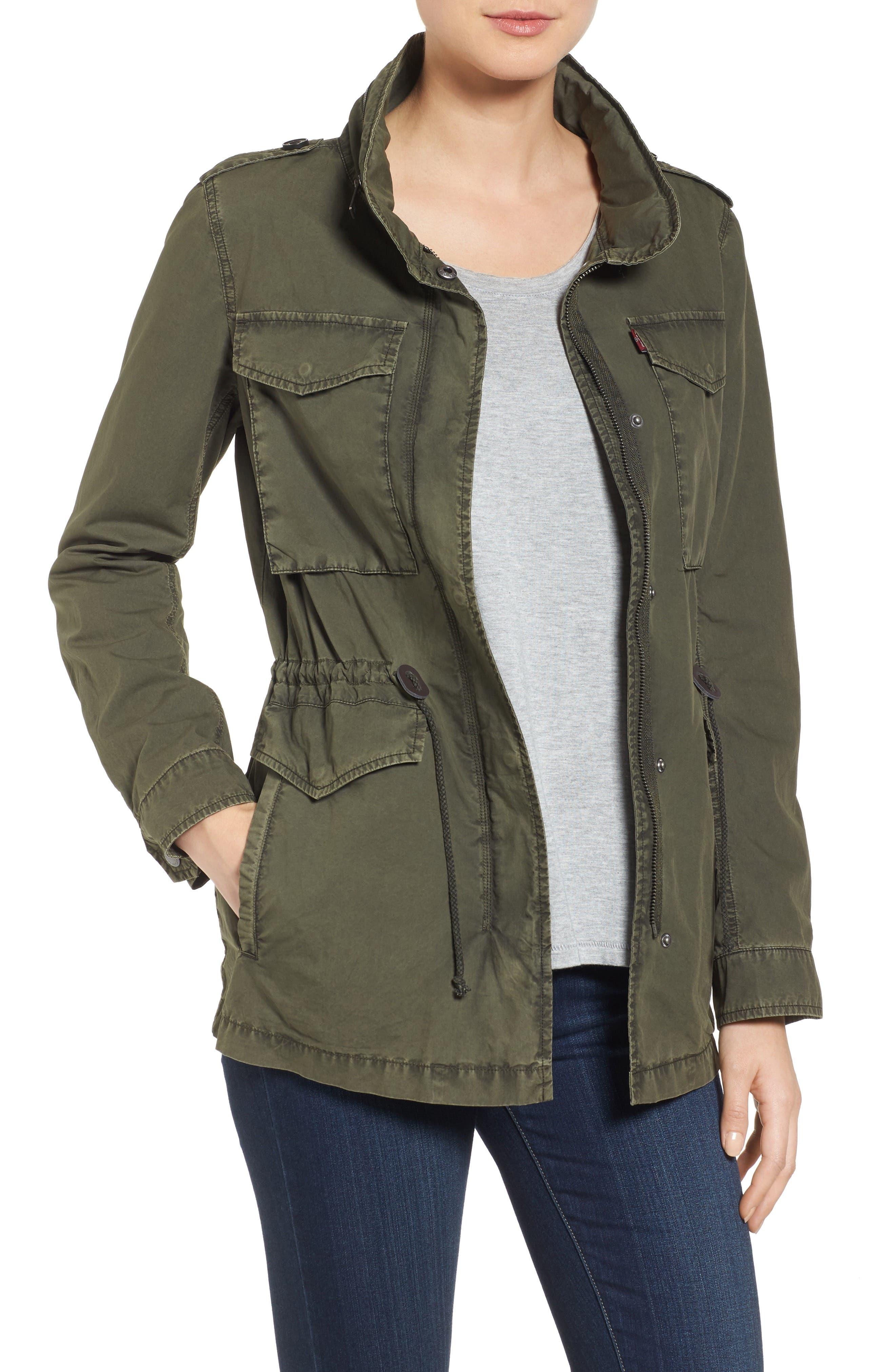 Alternate Image 1 Selected - Levi's® Four-Pocket Military Jacket