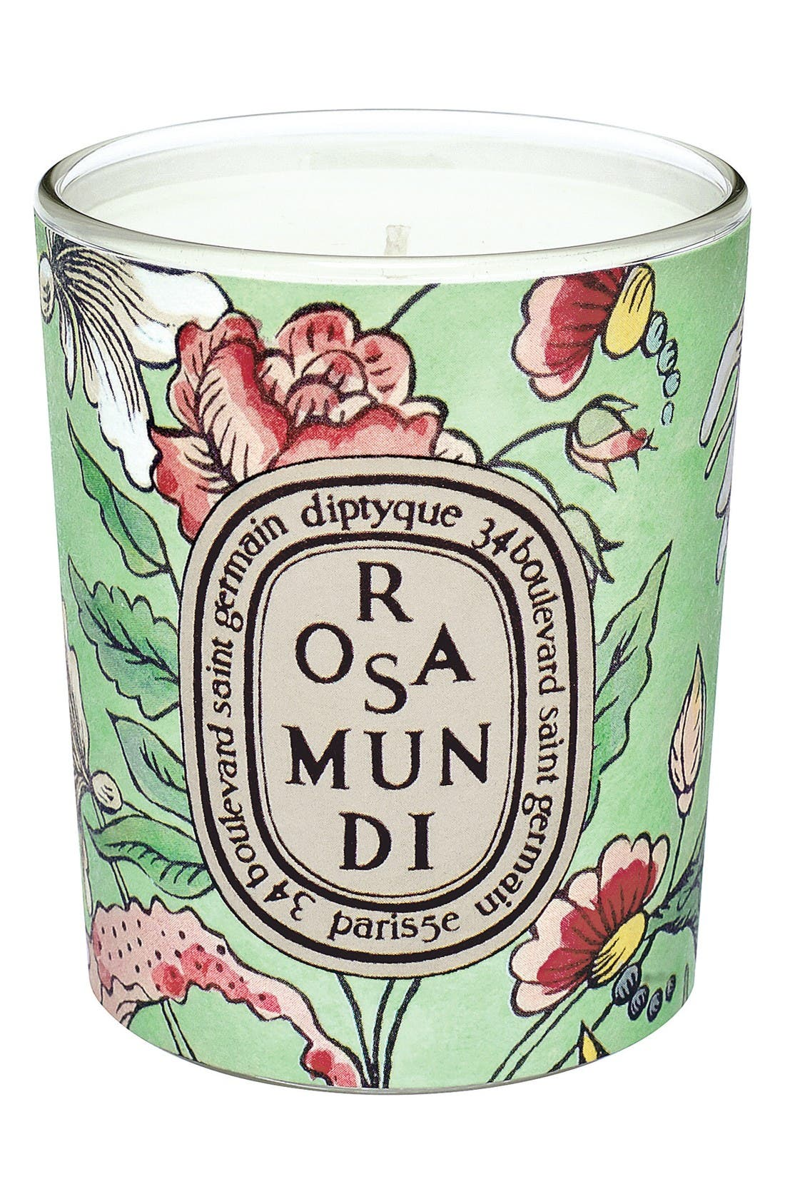 Alternate Image 1 Selected - diptyque Rosa Mundi Candle (Limited Edition)