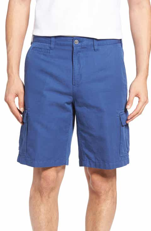 Peter Millar Coastal Linen Blend Cargo Shorts