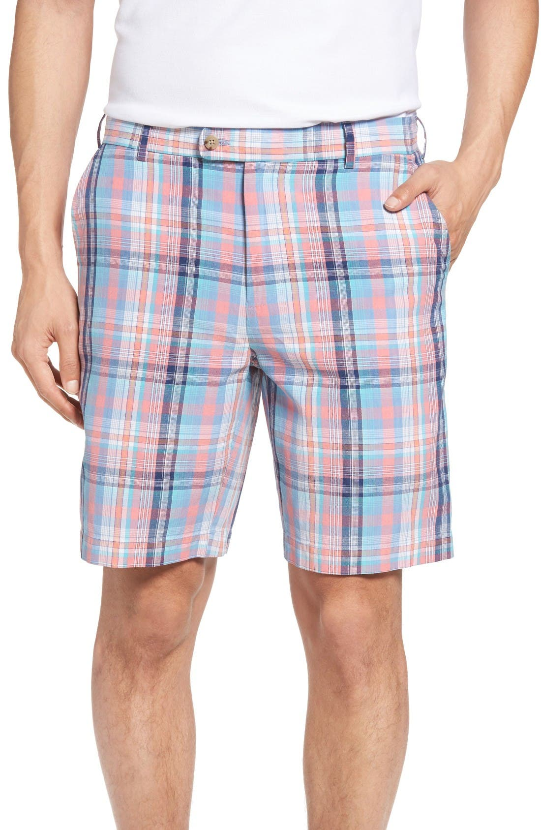 PETER MILLAR Manteo Madras Short
