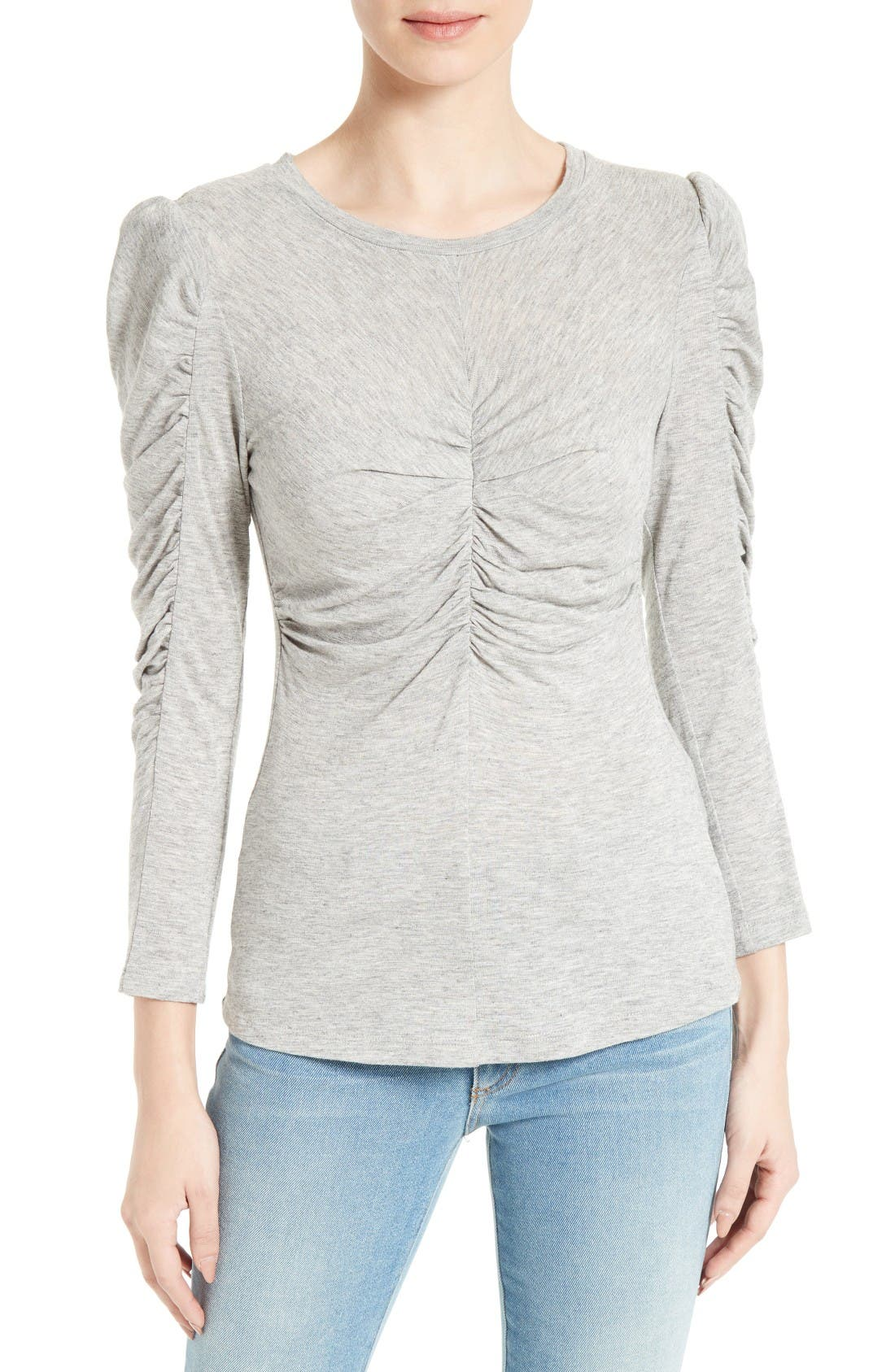 Rebecca Taylor Ruched Tee