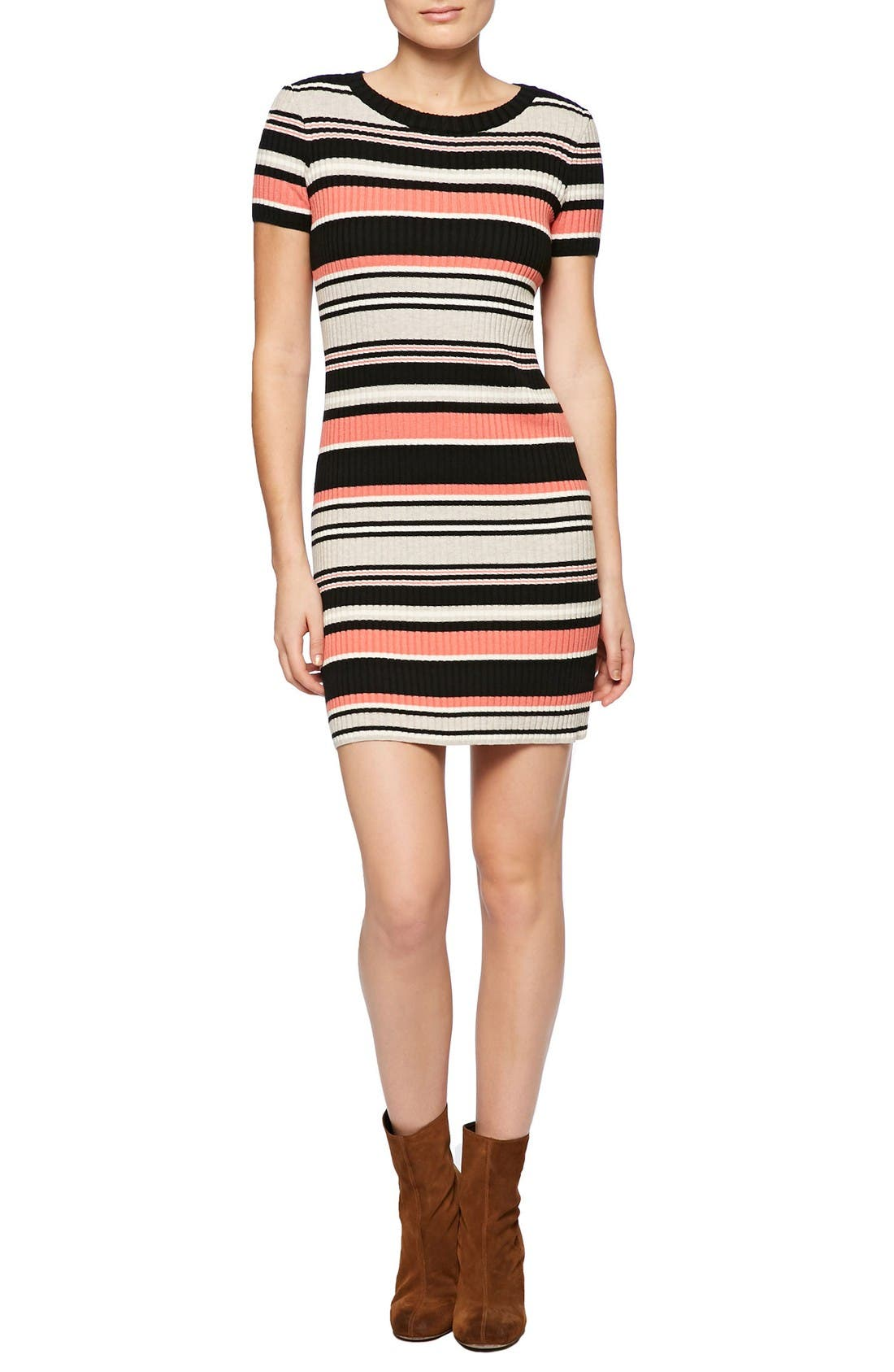 Alternate Image 1 Selected - Sanctuary Louey Stripe Body-Con Dress