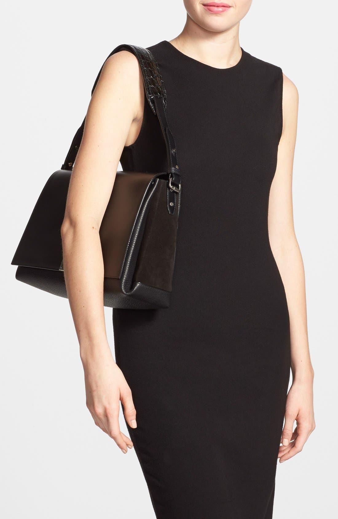 Alternate Image 2  - Proenza Schouler 'Elliot' Leather Shoulder Bag